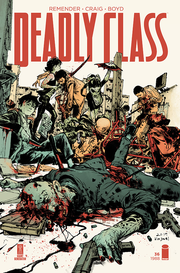 DEADLY CLASS #36 CVR B GI & MCCAIG (MR)
