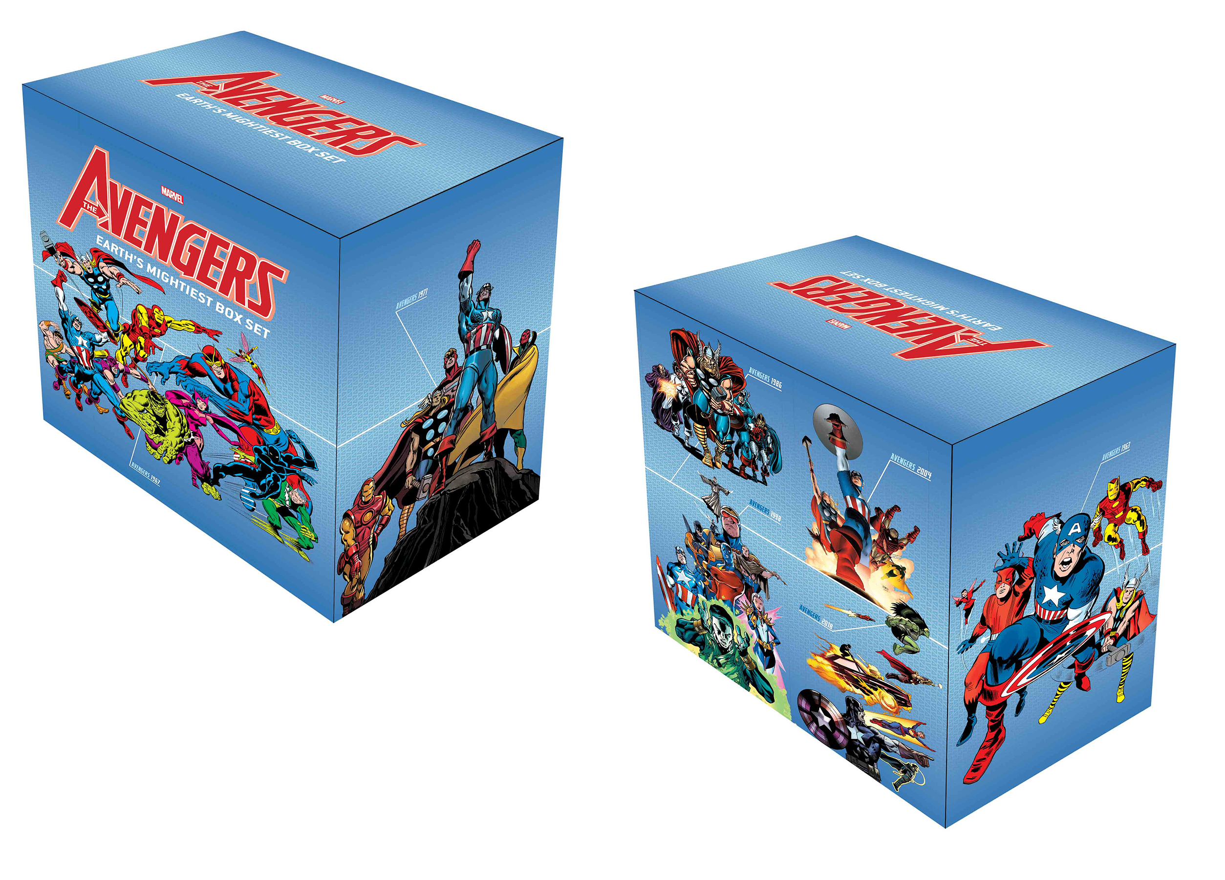 AVENGERS EARTH MIGHTIEST BOX SET SLIPCASE