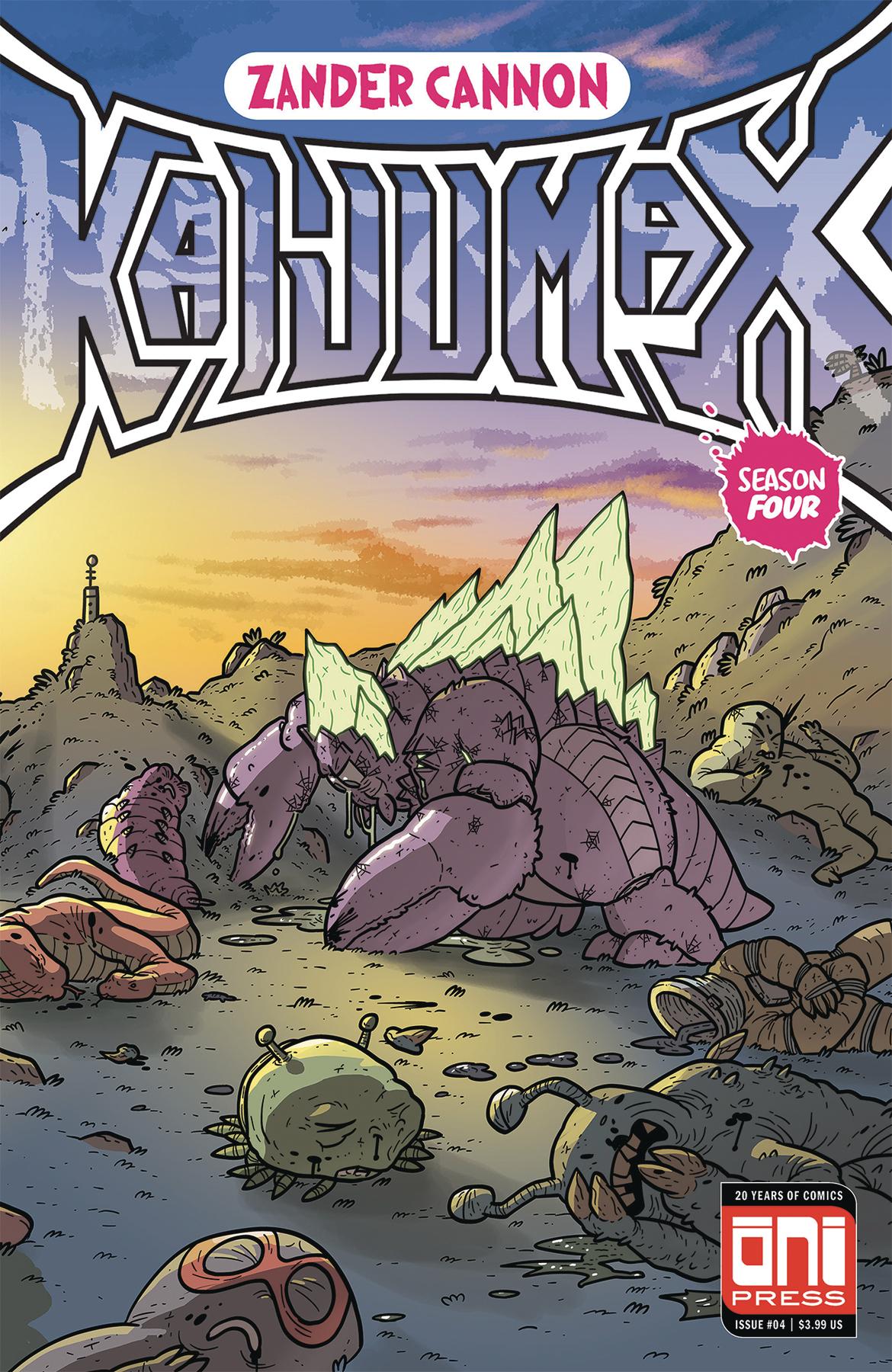 KAIJUMAX SEASON 4 #4 (OF 6) (MR)