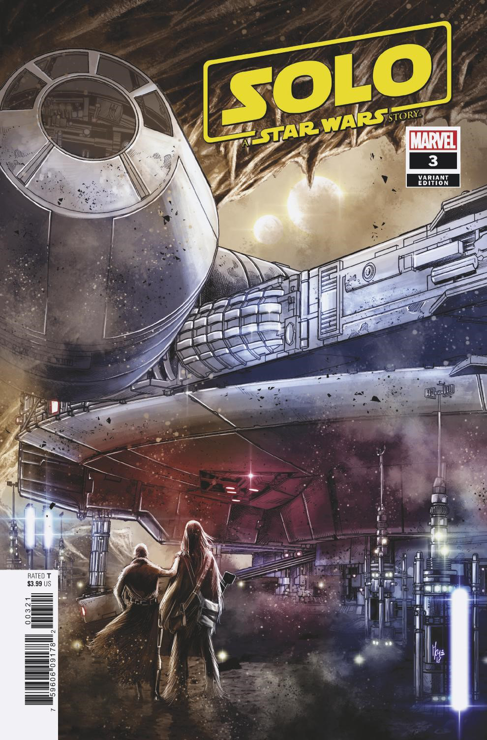 STAR WARS SOLO ADAPTATION #3 (OF 7) CHECCHETTO VAR