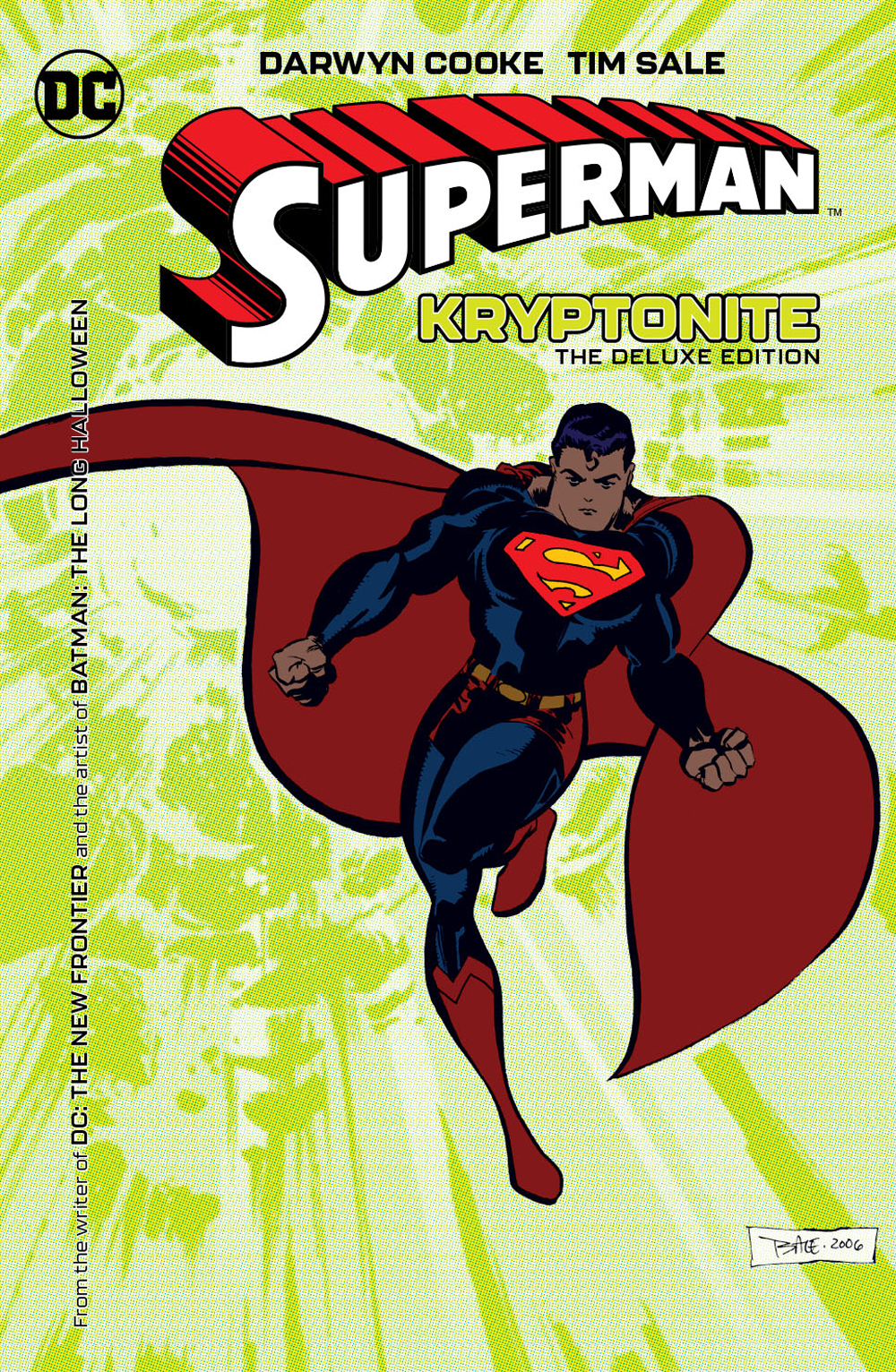 SUPERMAN KRYPTONITE DELUXE ED HC