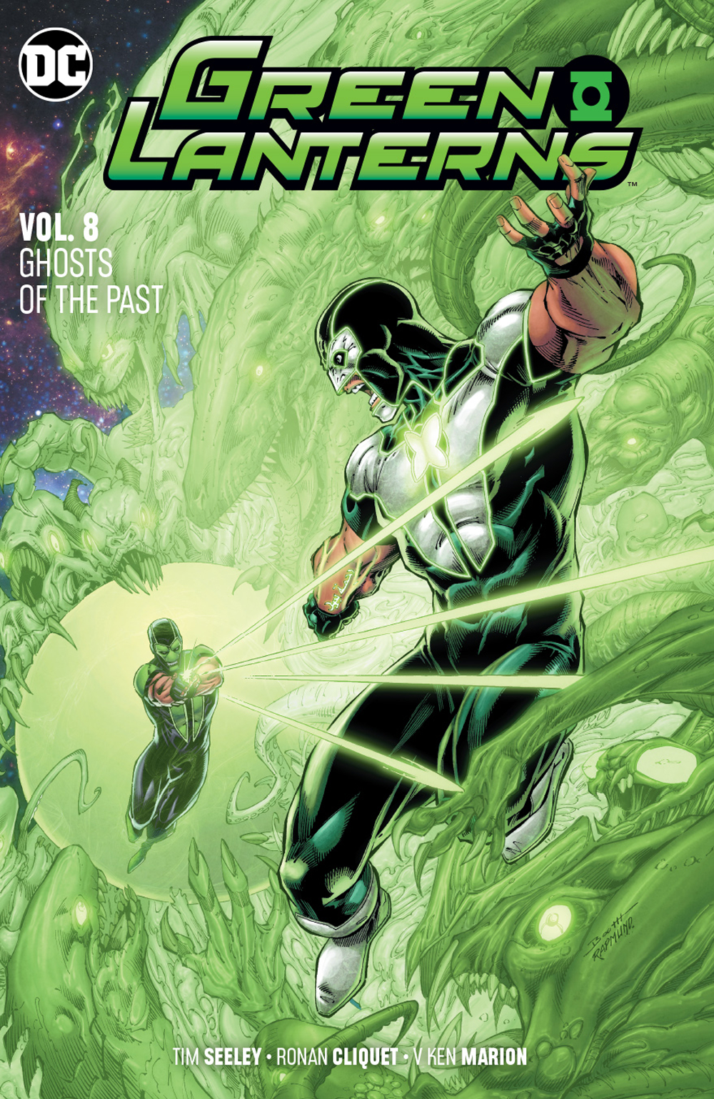 GREEN LANTERNS TP VOL 08 GHOSTS OF THE PAST (OCT180581)