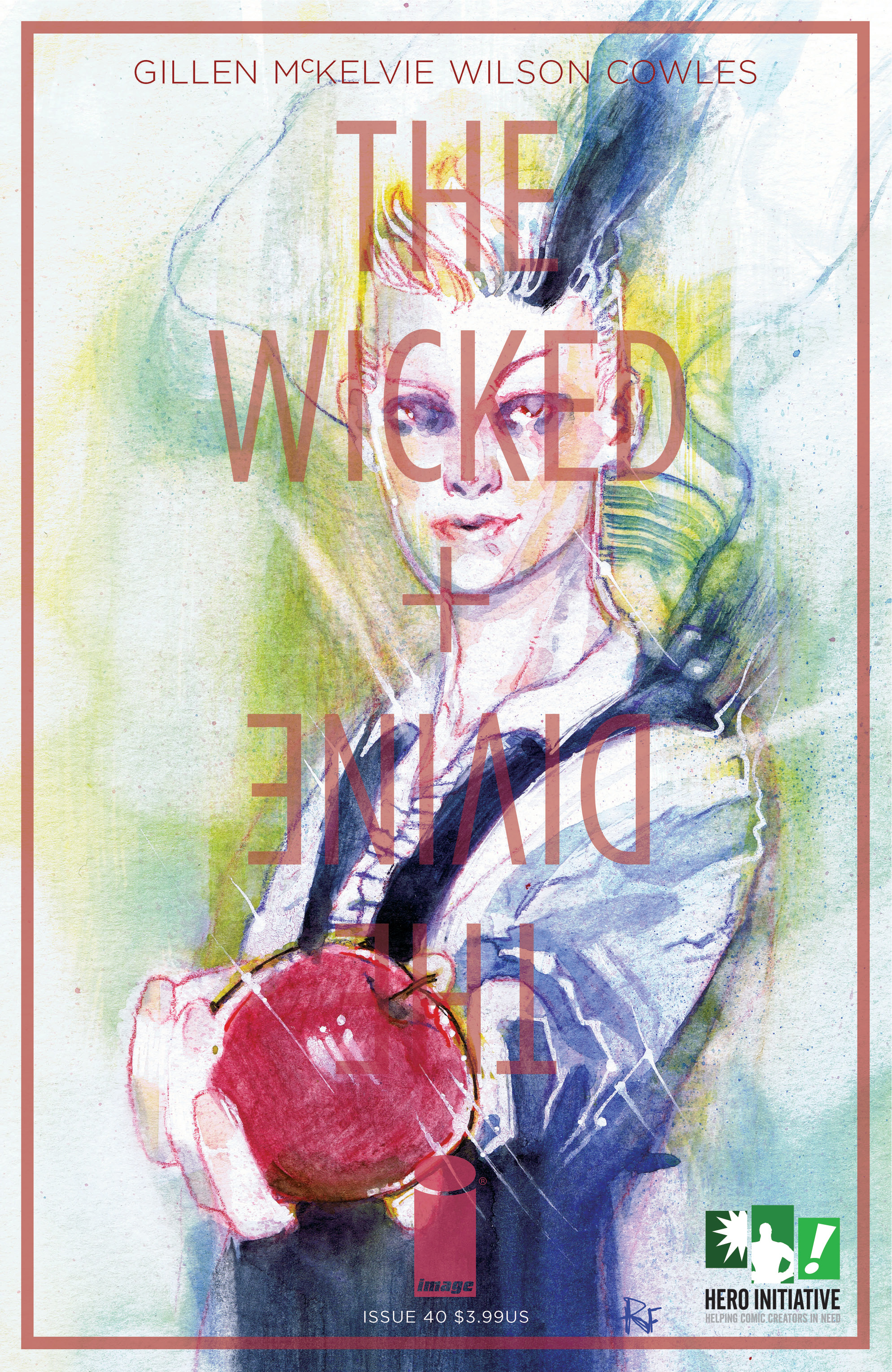 WICKED & DIVINE #40 CVR C HERO INITIATIVE VAR (MR)