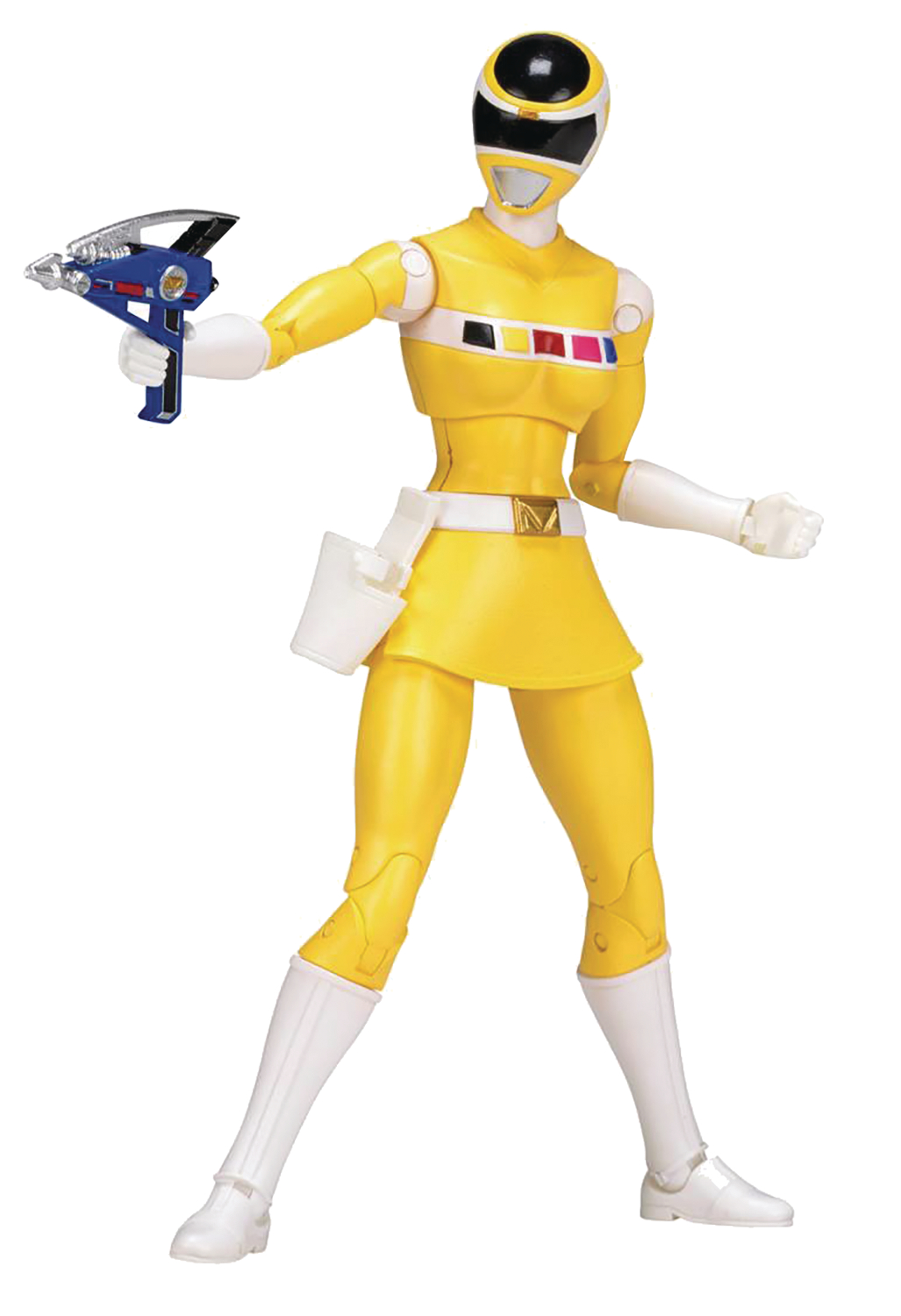 POWER RANGERS LEGACY IN SPACE YELLOW RANGER 6IN AF CS