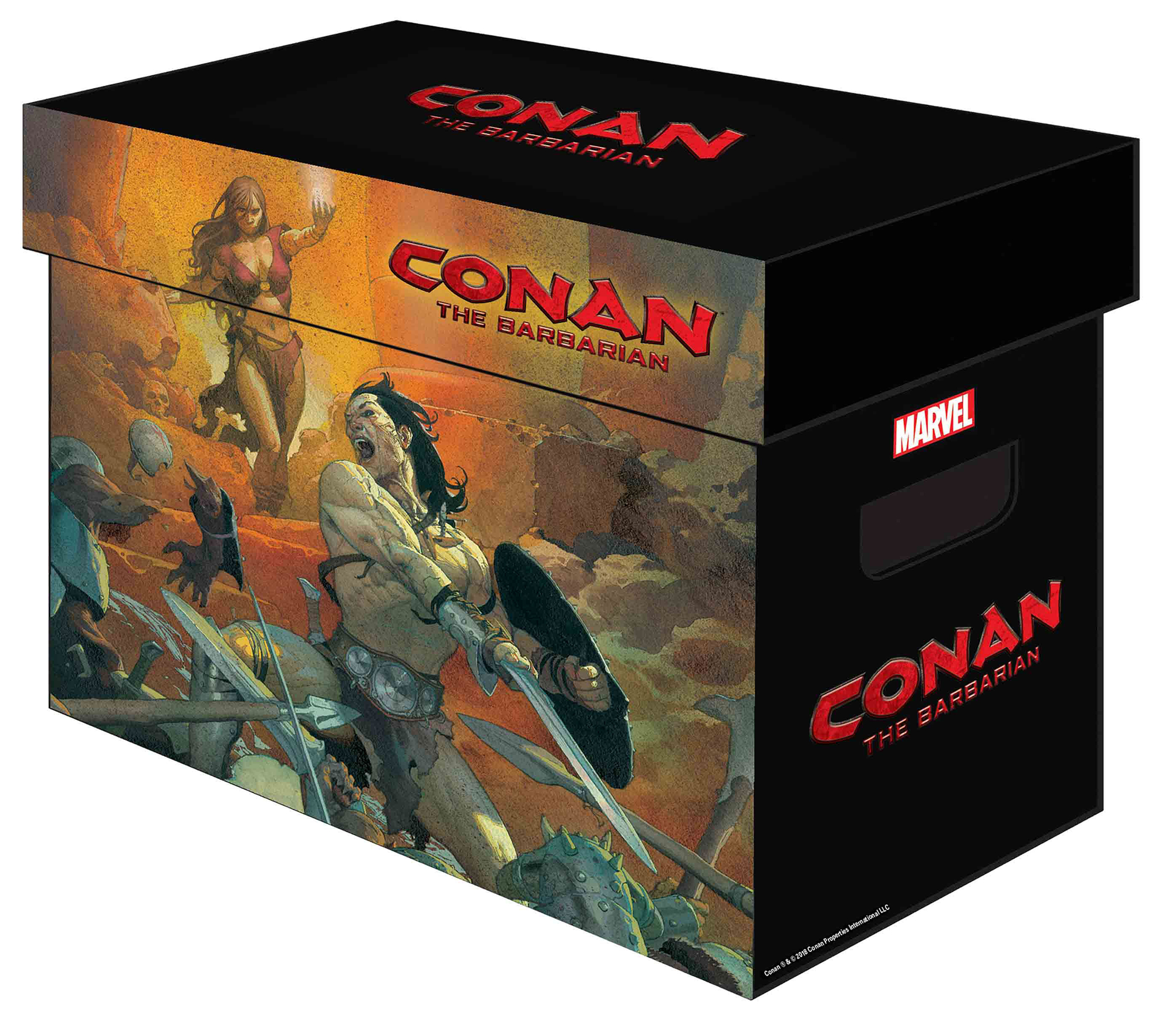MARVEL GRAPHIC COMIC BOXES CONAN BARBARIAN (BUNDLE OF 5) (NE