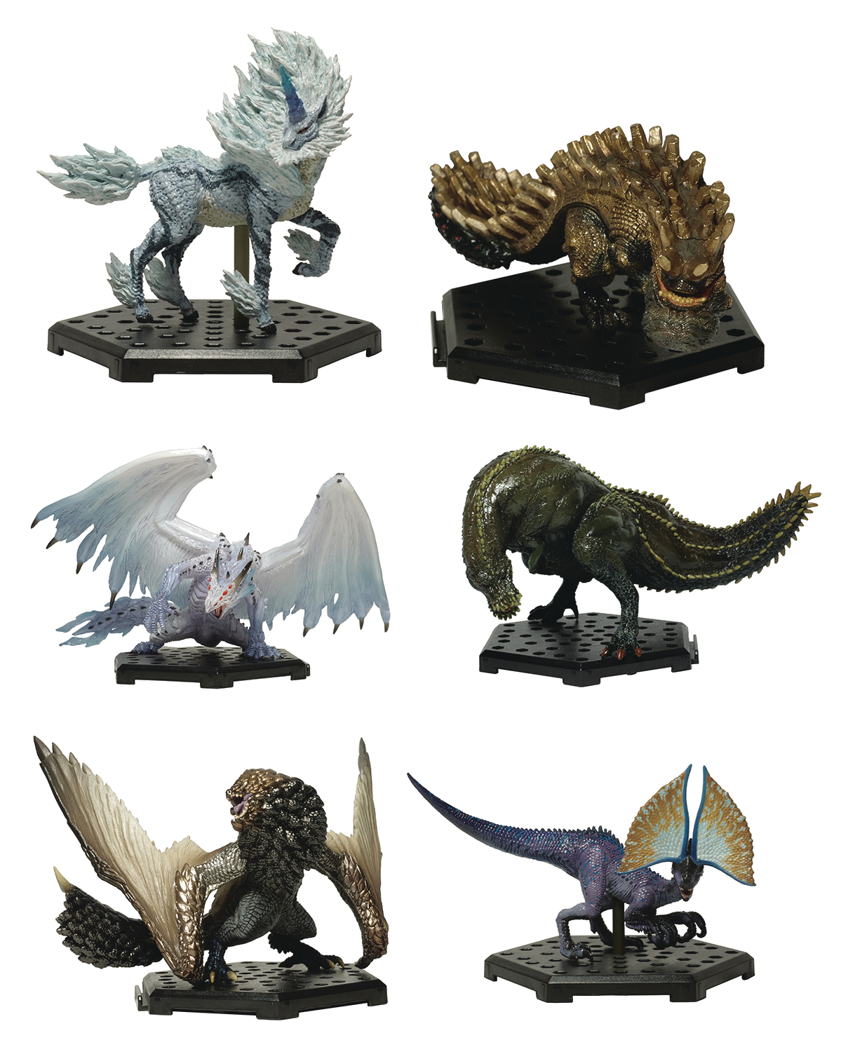 MONSTER HUNTER STANDARD MODEL PLUS 6PC BMB DIS VER 12