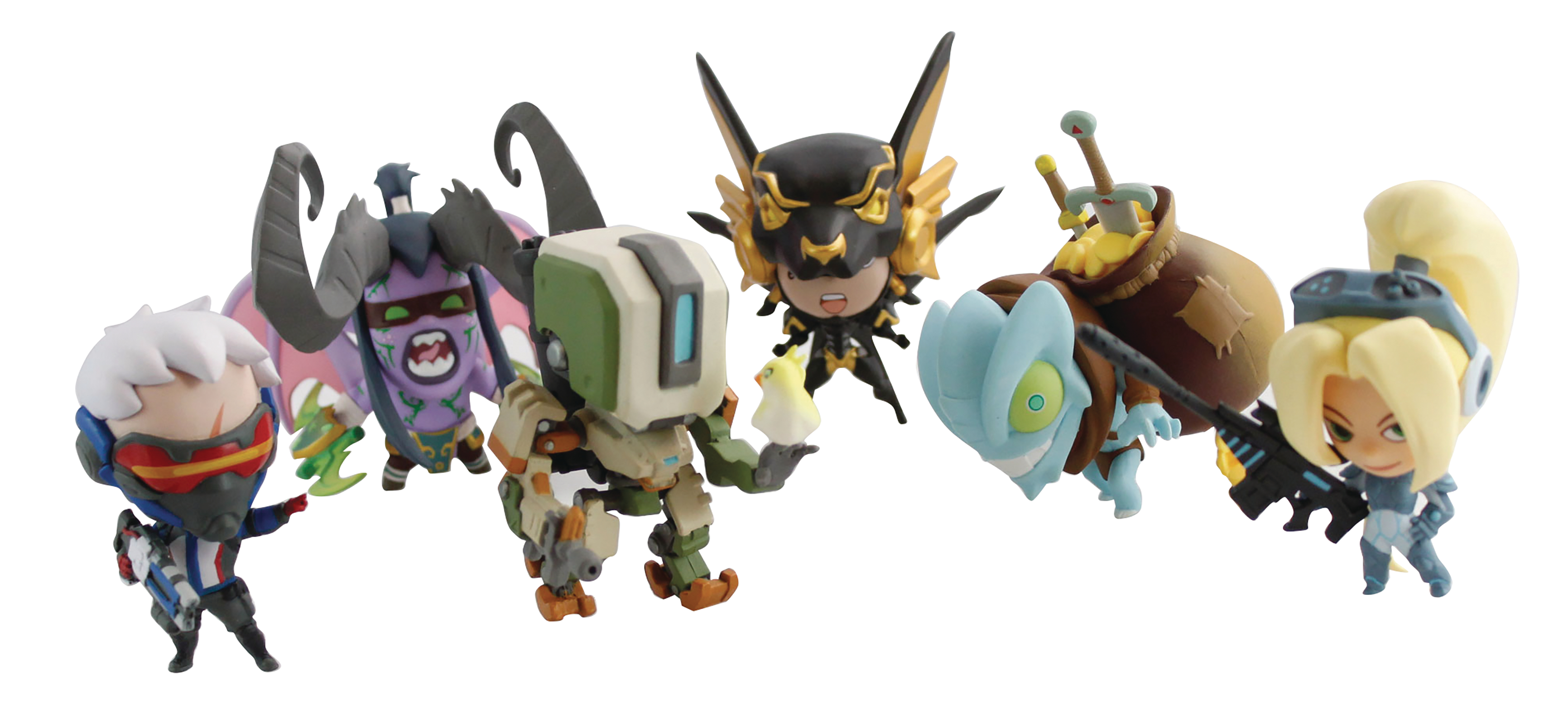BLIZZARD CUTE BUT DEADLY SER 2 DLX VINYL FIG 12PC DS