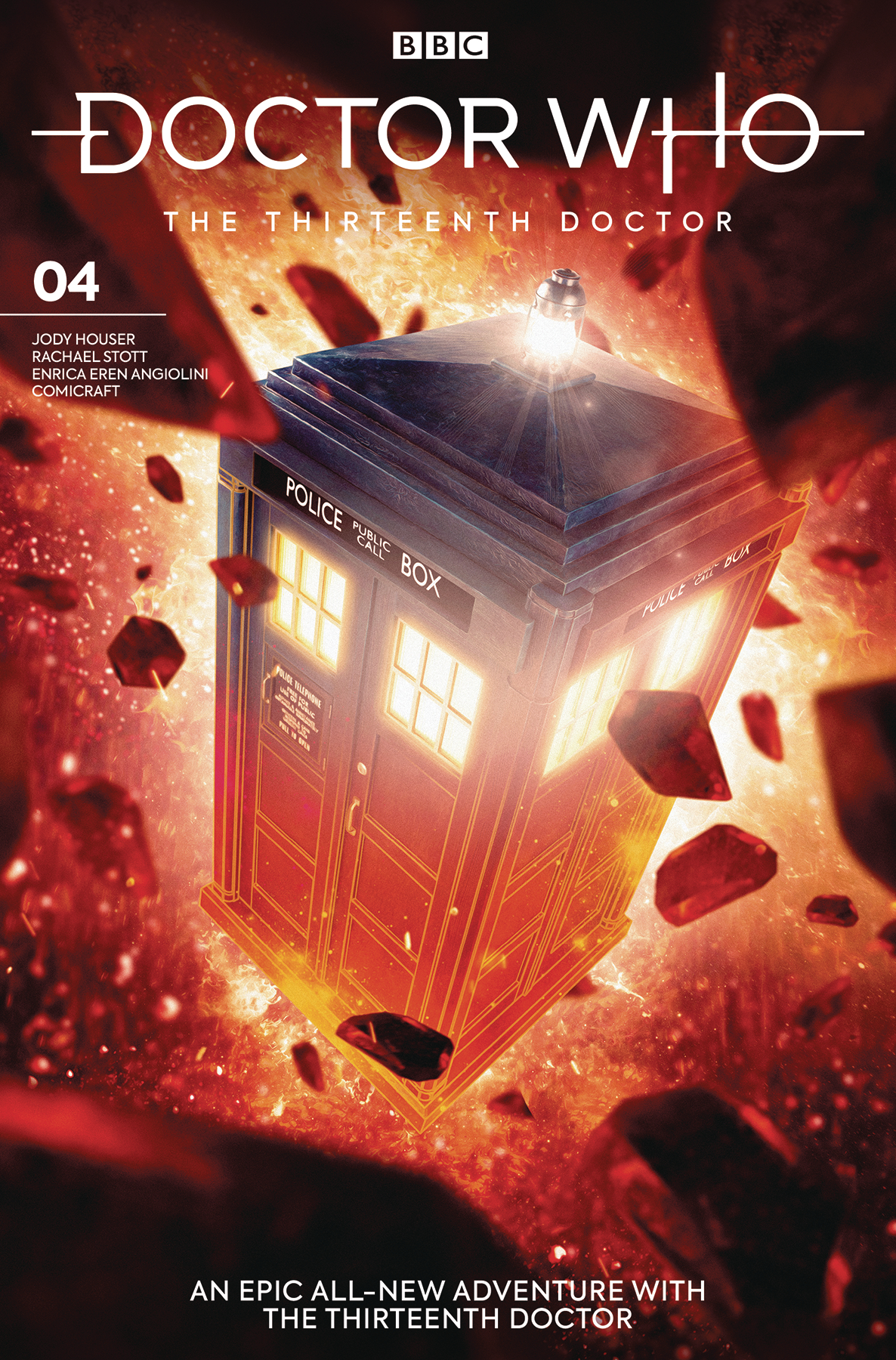 DOCTOR WHO 13TH #4 CVR B BROOKS