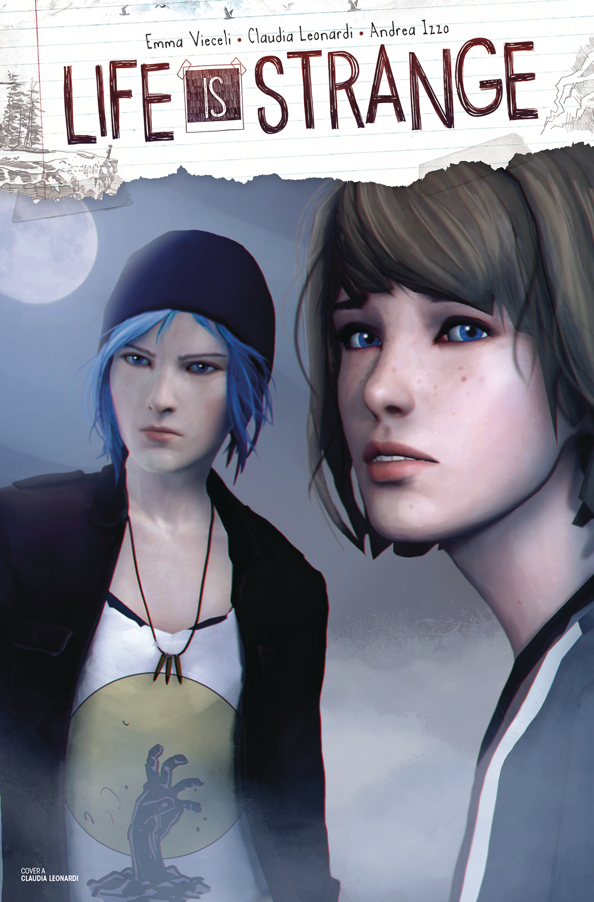LIFE IS STRANGE #3 CVR B GAME ART