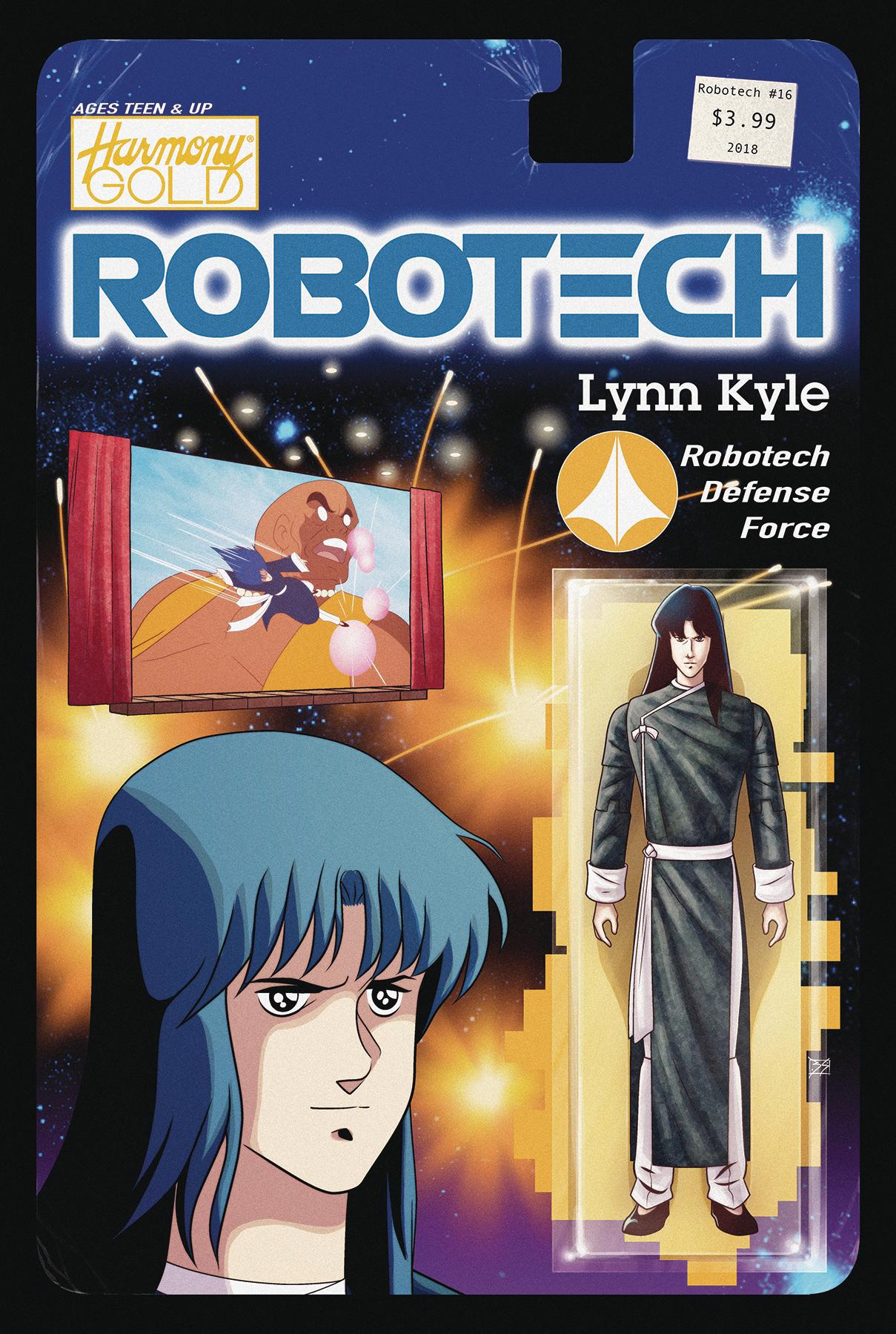 ROBOTECH #16 CVR B ACTION FIGURE VAR