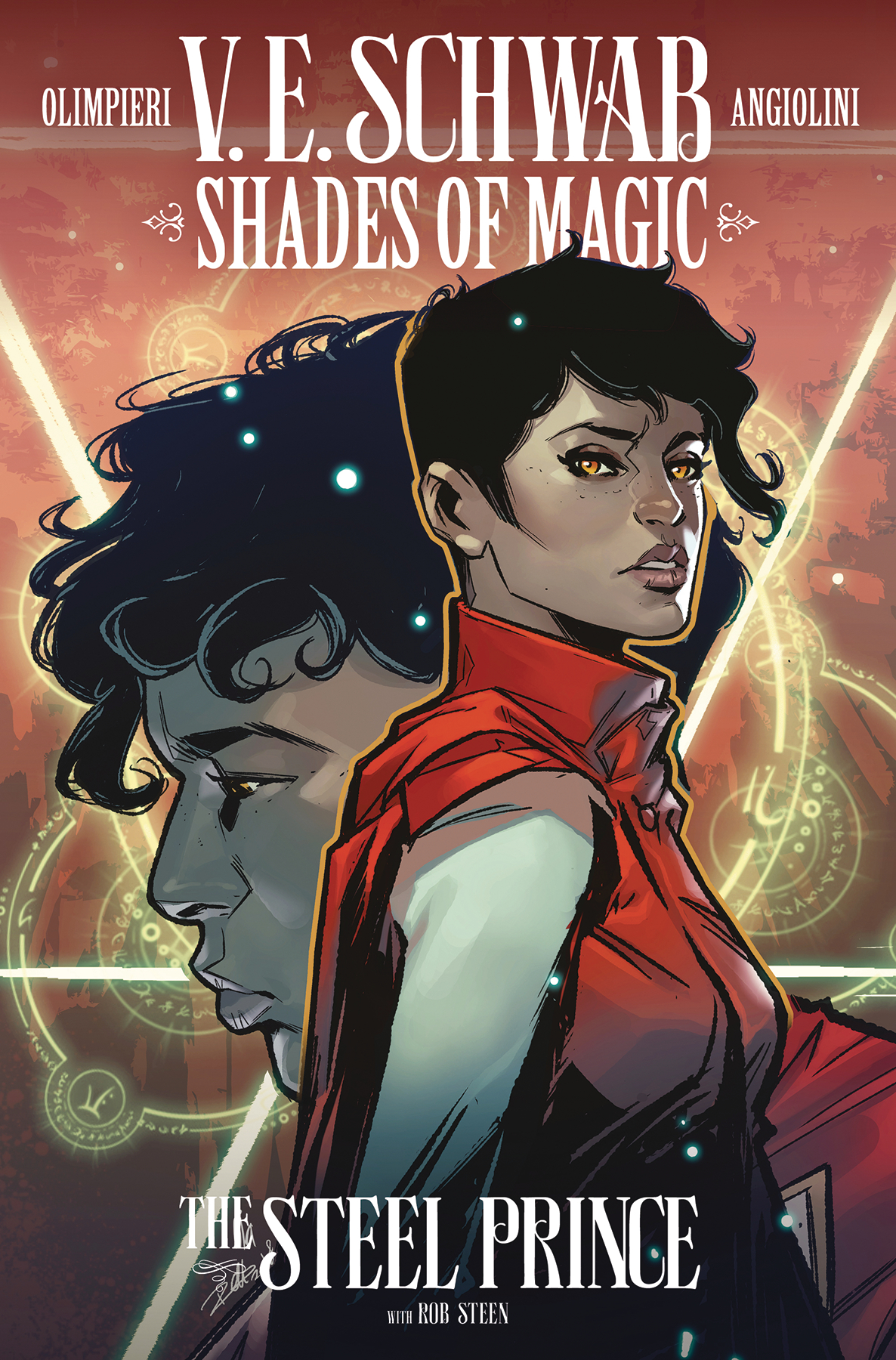 SHADES OF MAGIC #4 (OF 4) STEEL PRINCE CVR B INGRANATA & SAH
