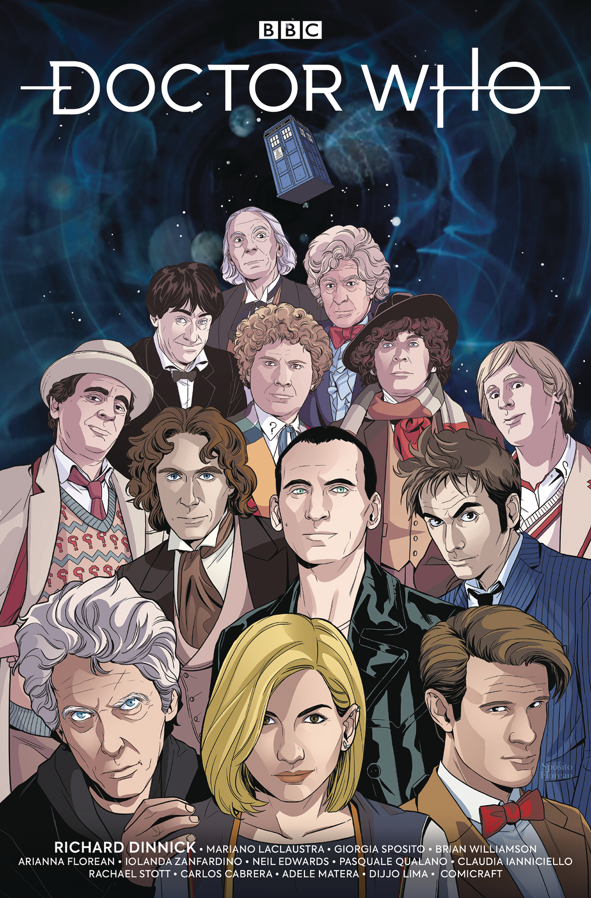 DOCTOR WHO 13TH #0 NYCC EXC CVR