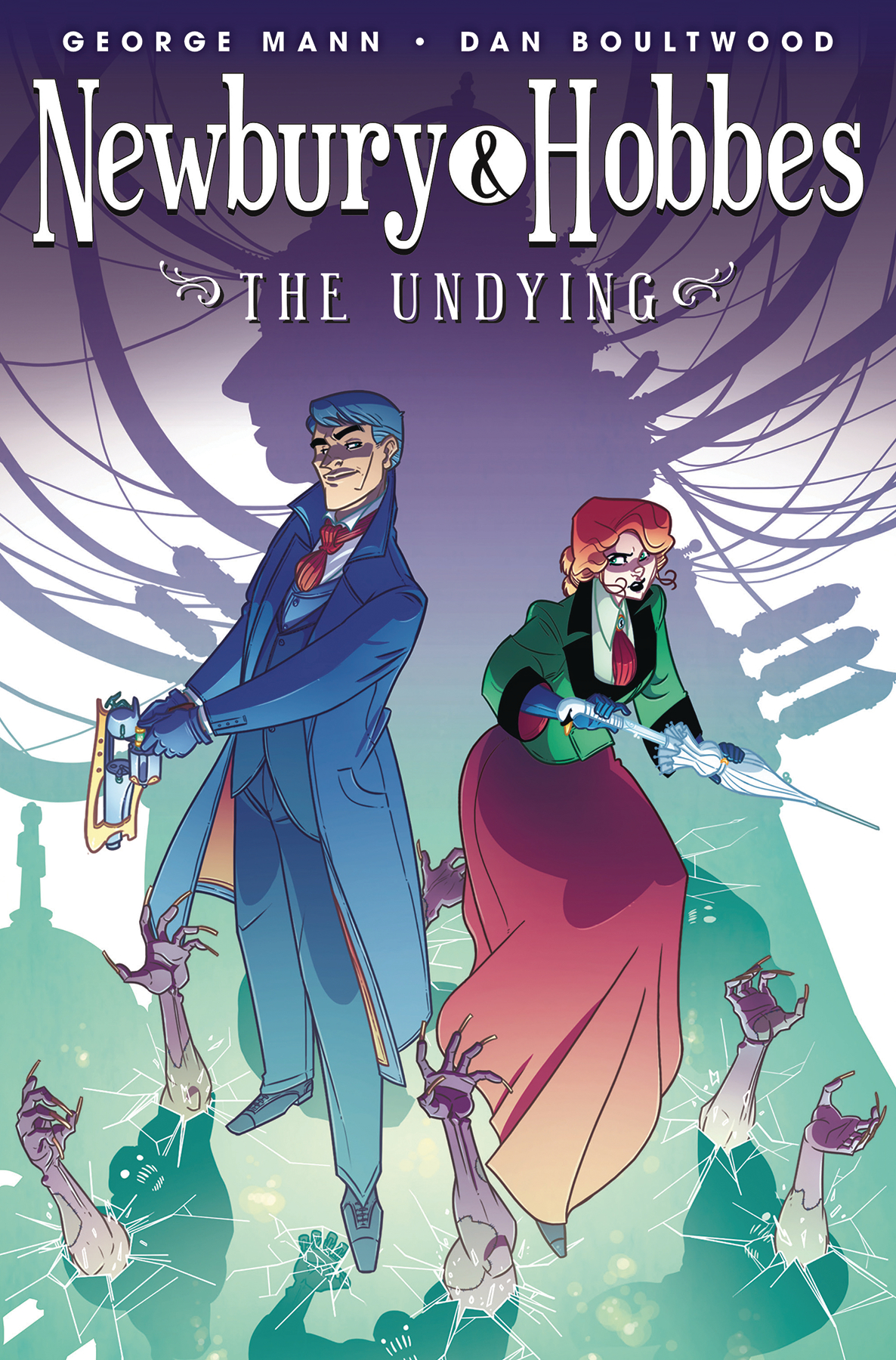 NEWBURY & HOBBES TP VOL 01 UNDYING
