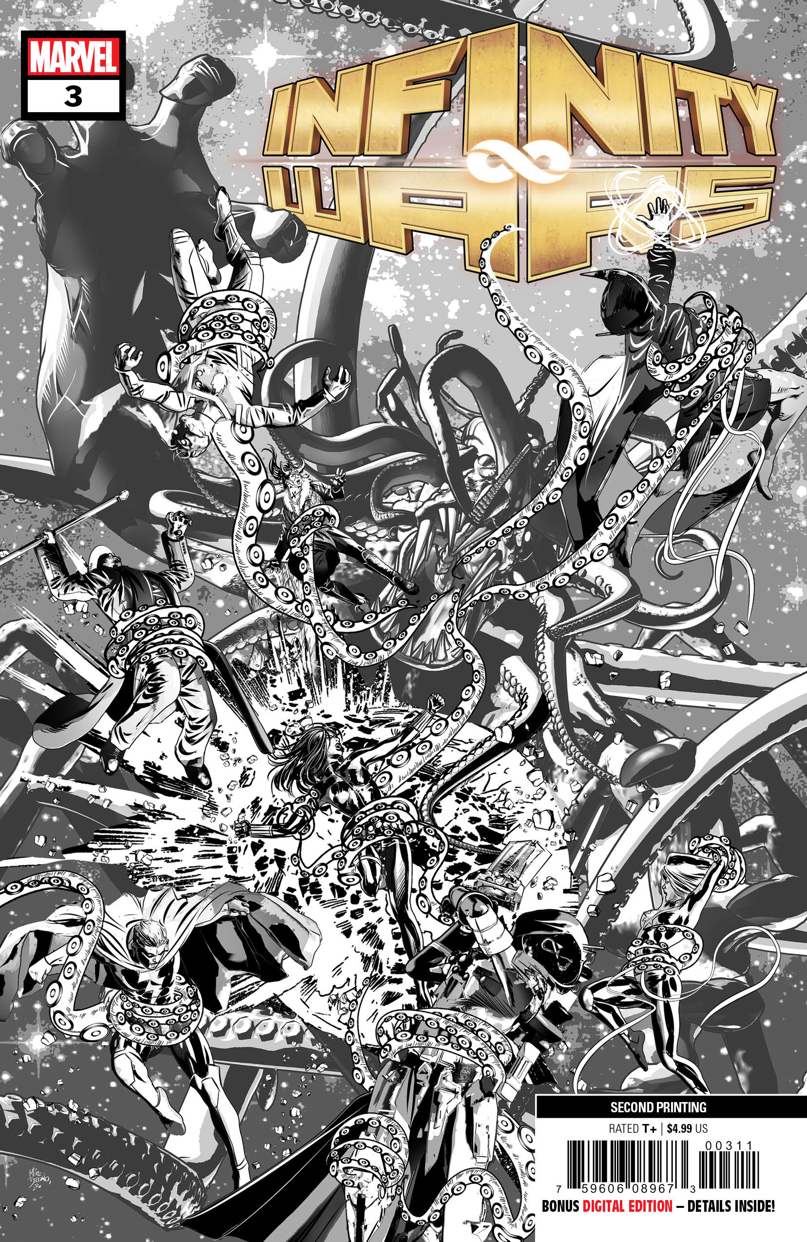 INFINITY WARS #3 (OF 6) 2ND PTG DEODATO VAR