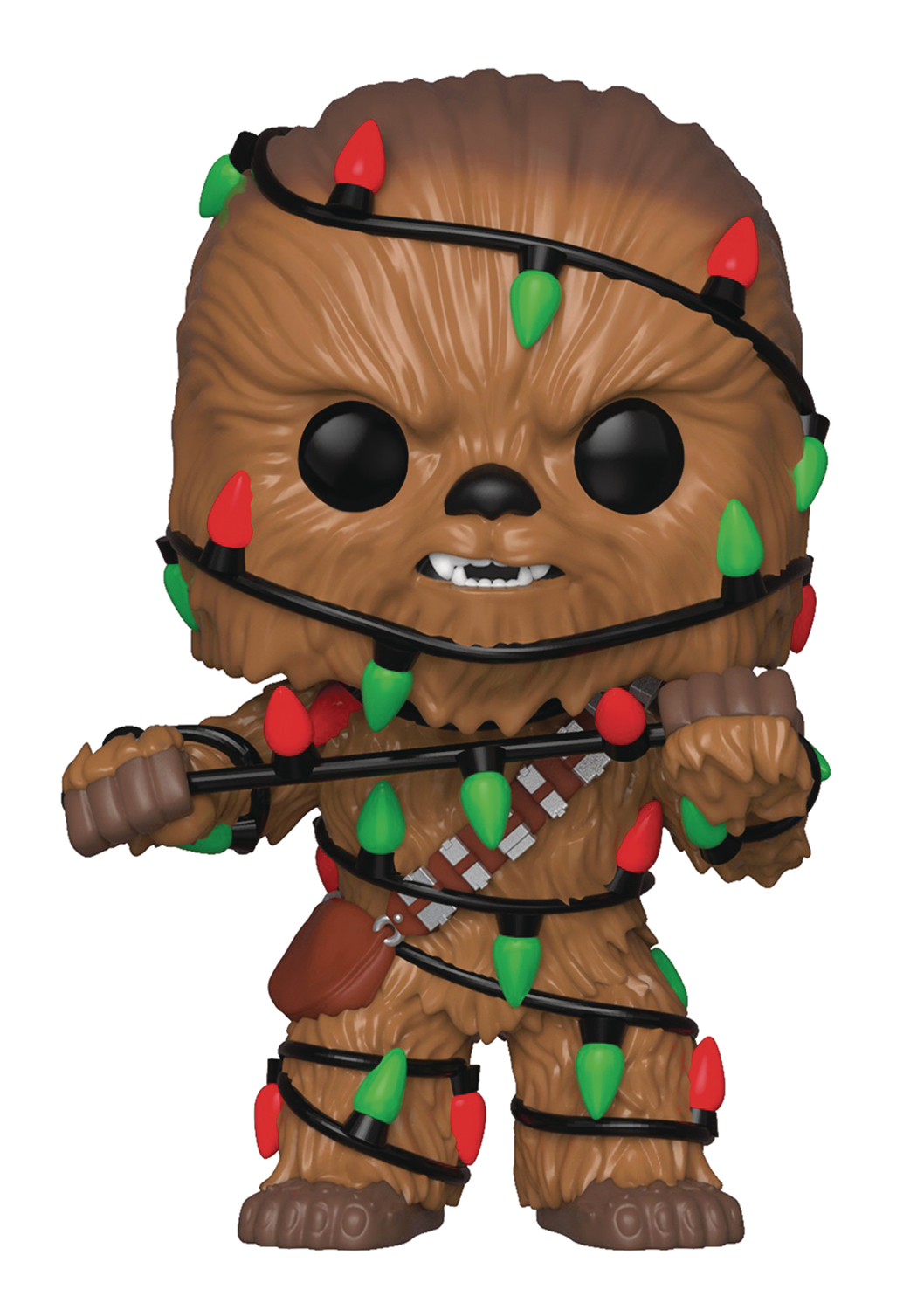 POP STAR WARS HOLIDAY CHEWBACCA VINYL FIG