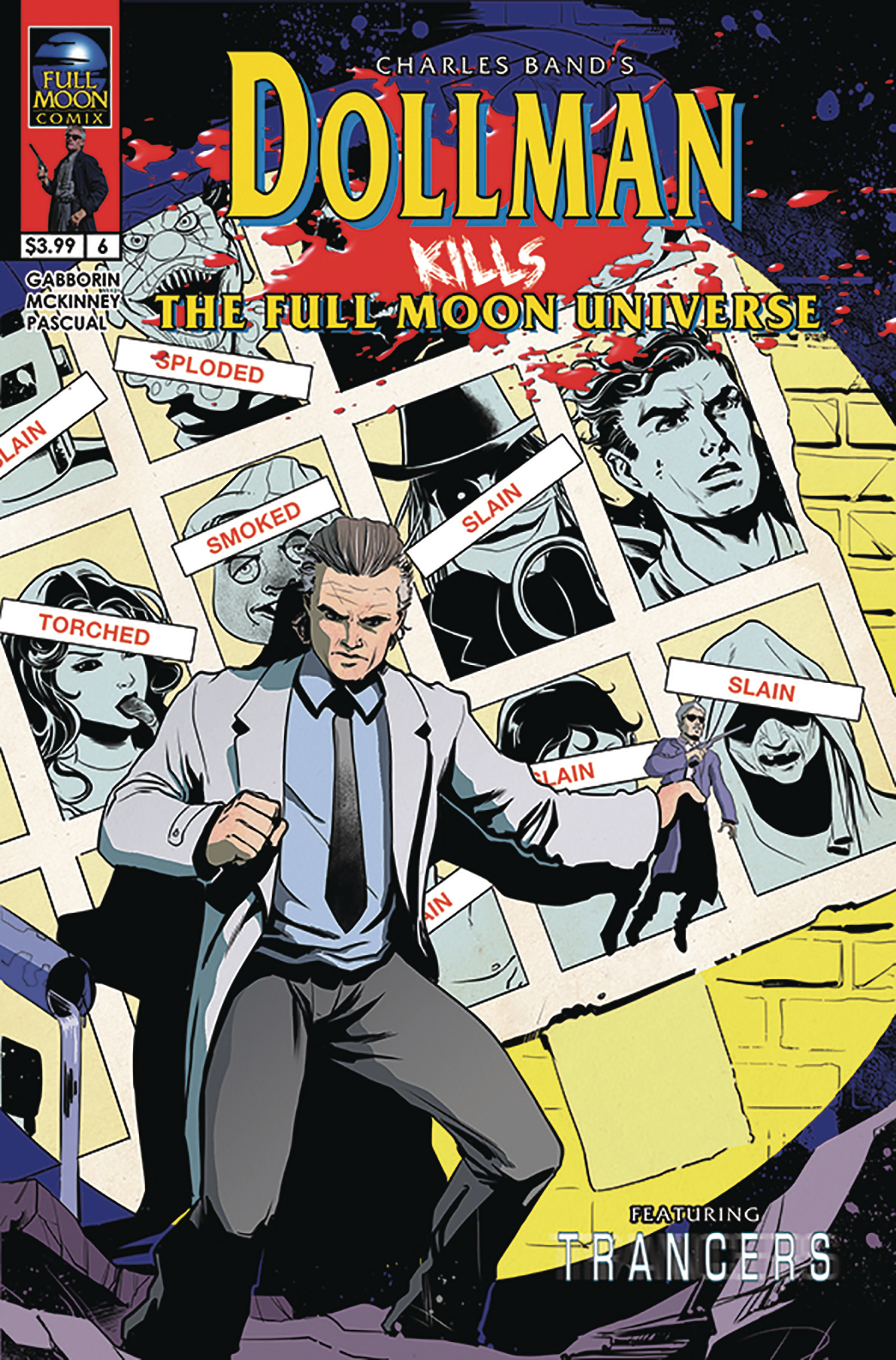 DOLLMAN KILLS THE FULL MOON UNIVERSE #6 (OF 6) CVR B PASCUAL