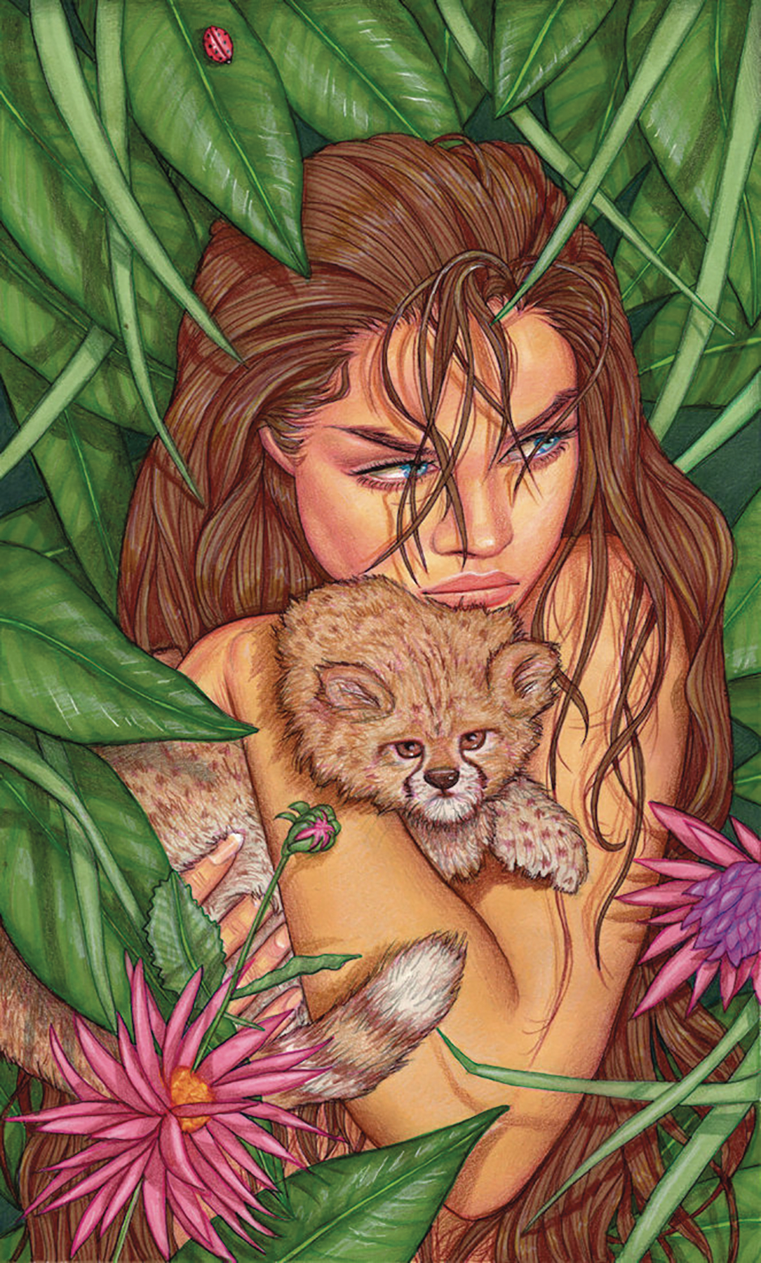 CAVEWOMAN MARKHAMS MANSION ONE SHOT #1 (OF 1) CVR F VALENTIN