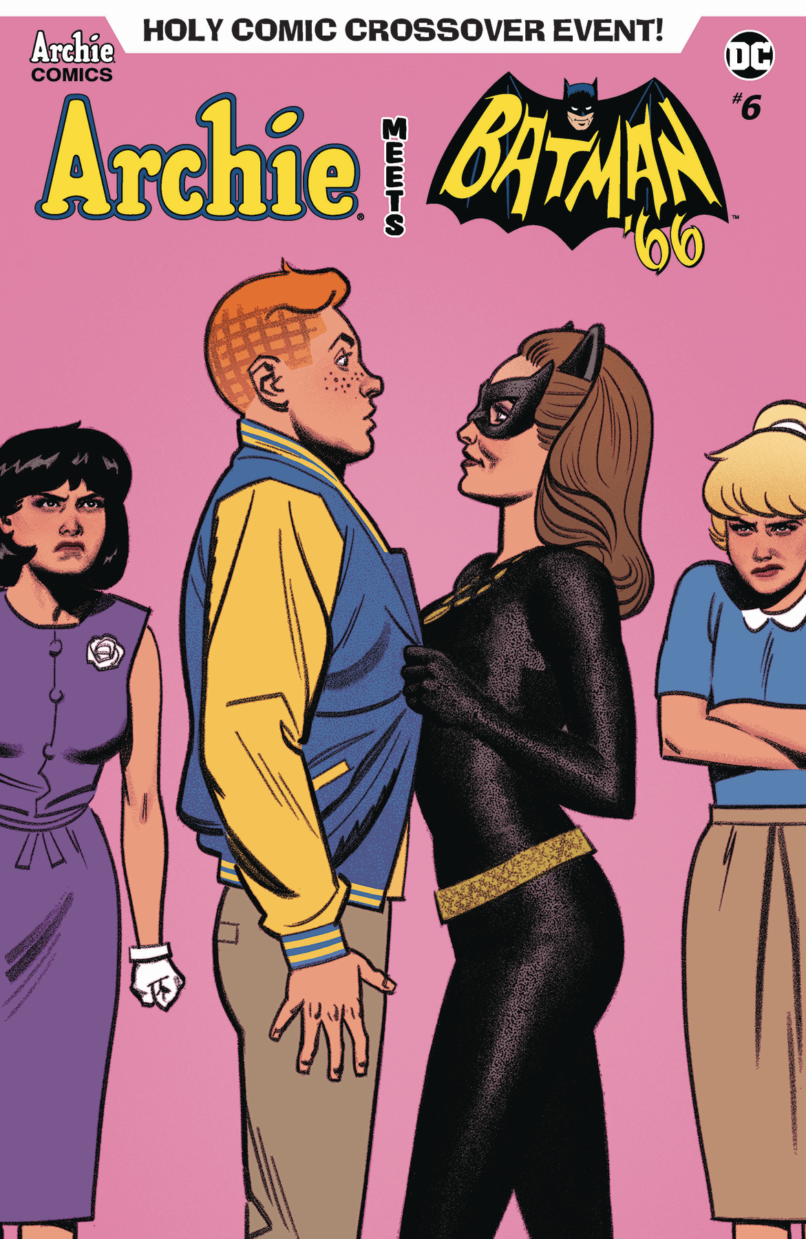 ARCHIE MEETS BATMAN 66 #6 CVR F SMALLWOOD