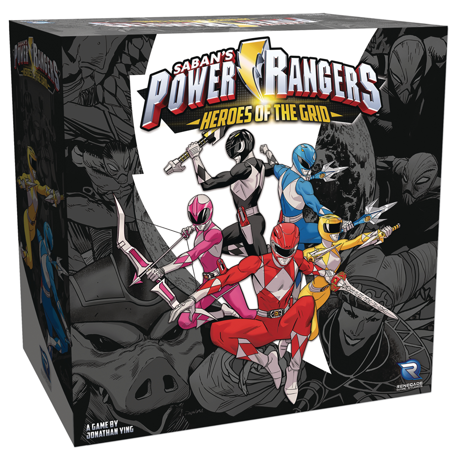 POWER RANGERS HEROES GRID BOARD GAME
