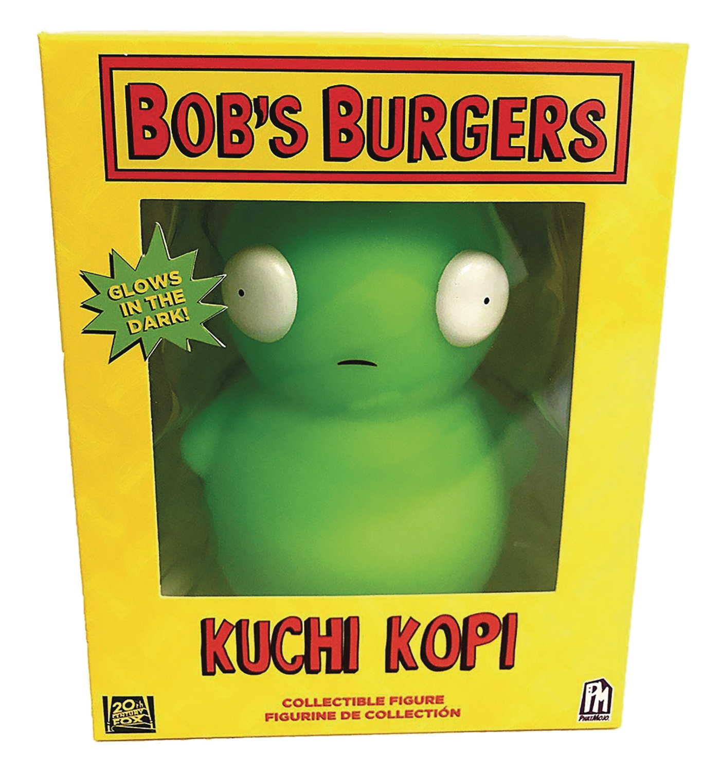 BOBS BURGERS KUCHI KOPI 6 IN GLOW IN THE DARK FIG