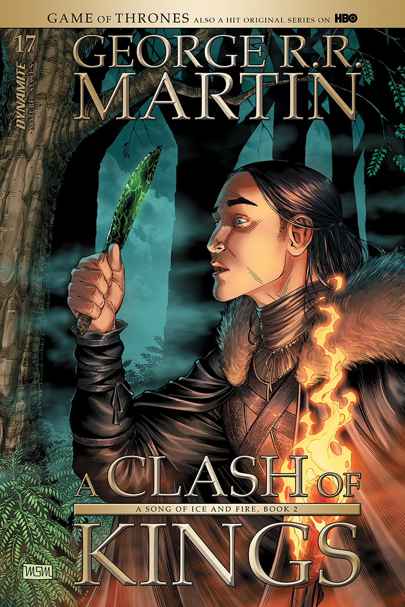 GAME OF THRONES CLASH OF KINGS #17 CVR A MILLER (MR)