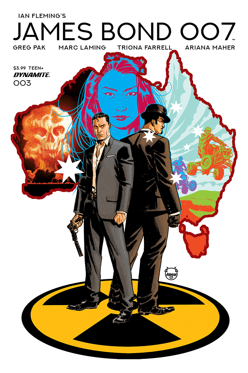 JAMES BOND 007 #3 CVR A JOHNSON