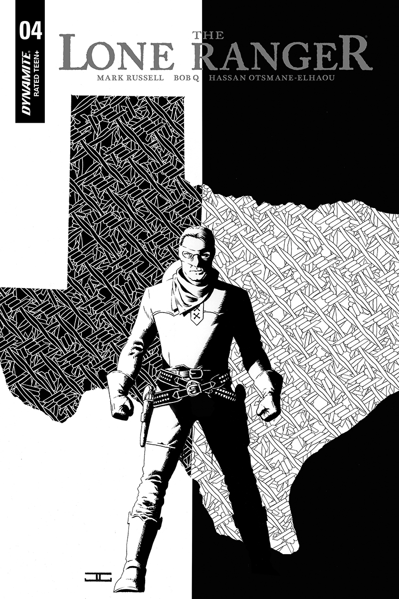 LONE RANGER VOL 3 #4 10 COPY CASSADAY B&W INCV