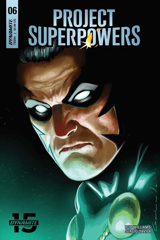 PROJECT SUPERPOWERS #6 CVR D GALINDO