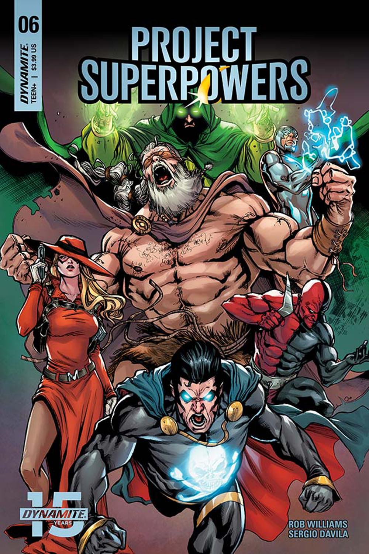 PROJECT SUPERPOWERS #6 CVR F DAVILA