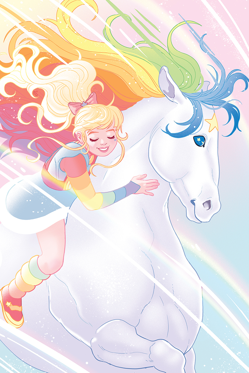 RAINBOW BRITE #4 10 COPY GANUCHEAU VIRGIN INCV