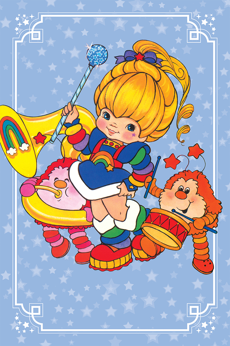 RAINBOW BRITE #4 20 COPY CLASSIC VIRGIN INCV