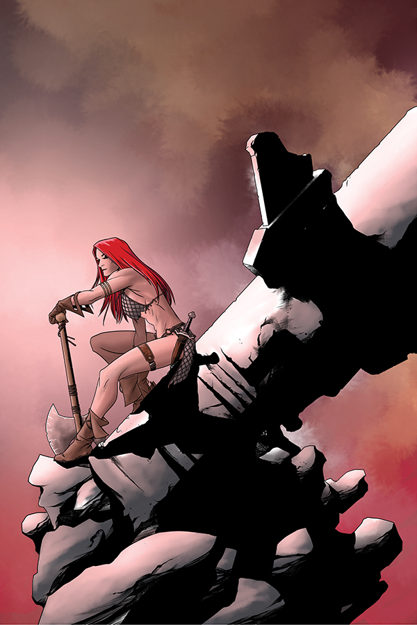 RED SONJA #25 10 COPY MCKONE VIRGIN INCV