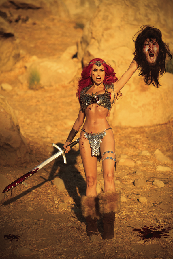 RED SONJA #25 30 COPY COSPLAY VIRGIN INCV