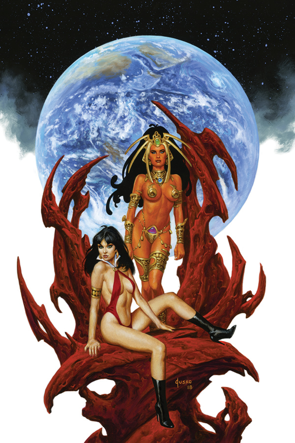 VAMPIRELLA DEJAH THORIS #5 10 COPY JUSKO VIRGIN INCV