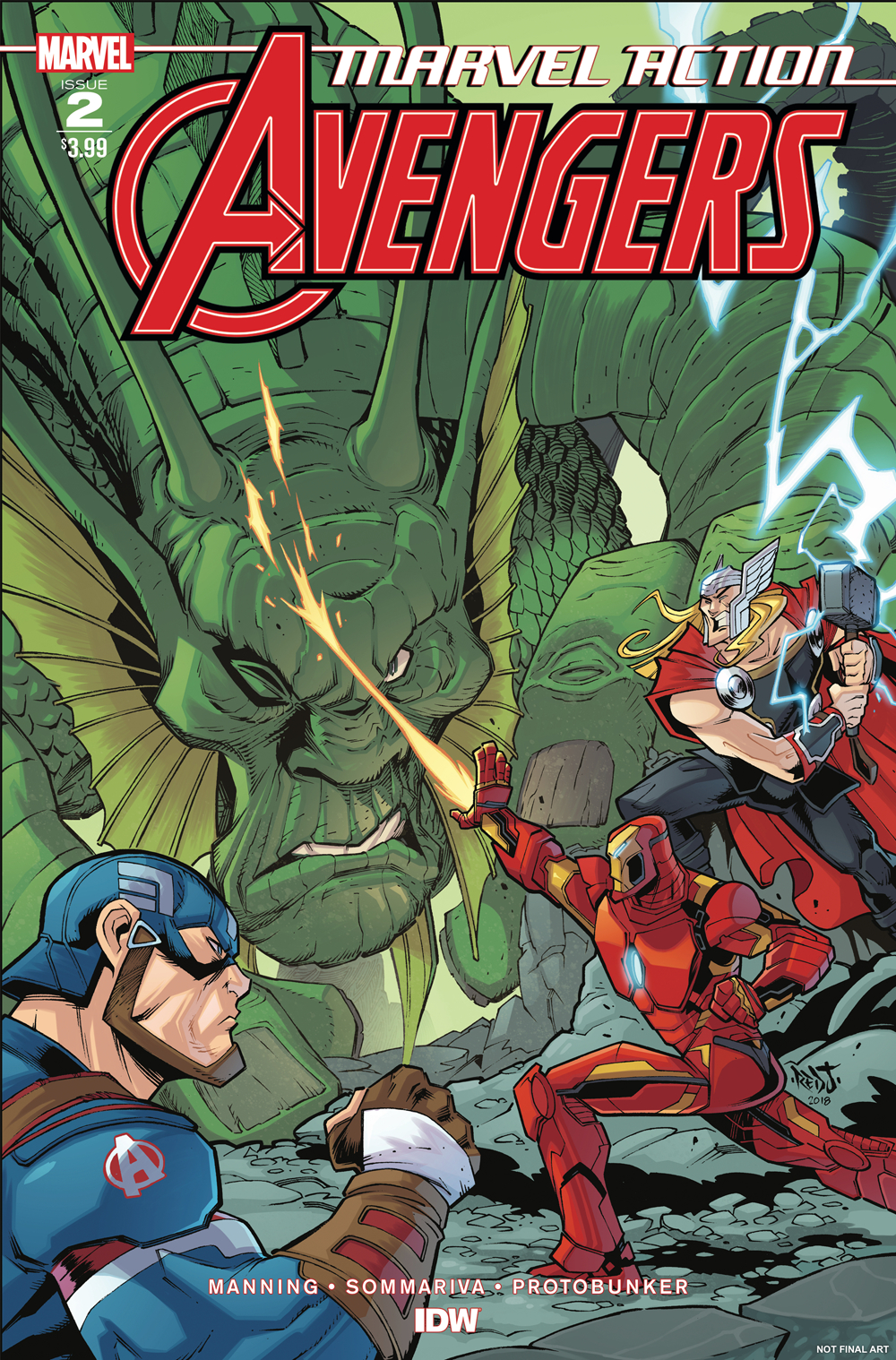 MARVEL ACTION AVENGERS #2 SOMMARIVA