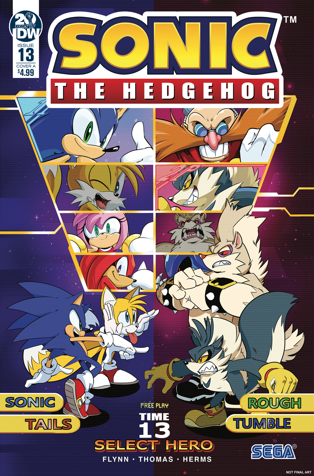 SONIC THE HEDGEHOG #13 CVR A THOMAS