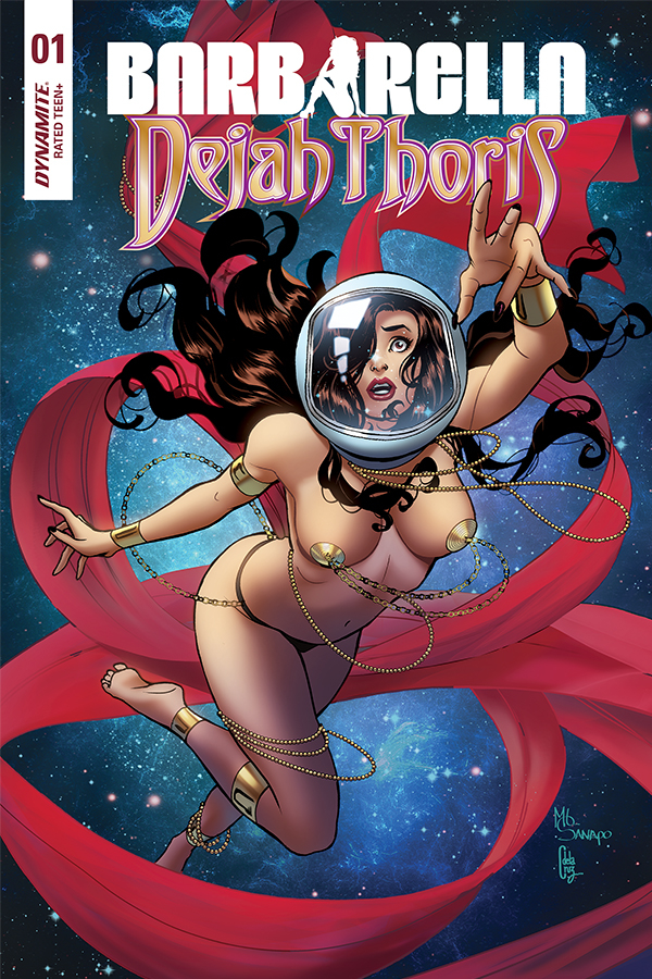 BARBARELLA DEJAH THORIS #1 20 COPY SANAPO DEJAH INCV