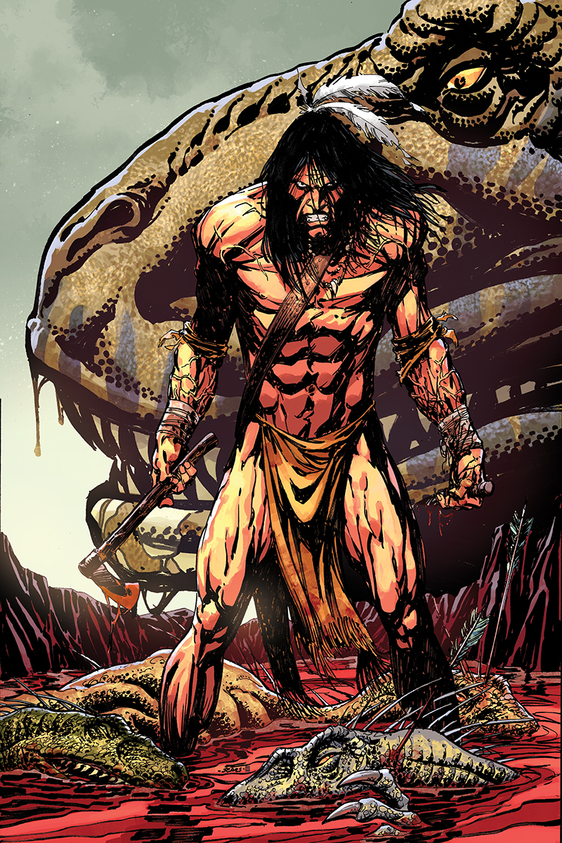 TUROK #1 BART SEARS LTD VIRGIN VAR