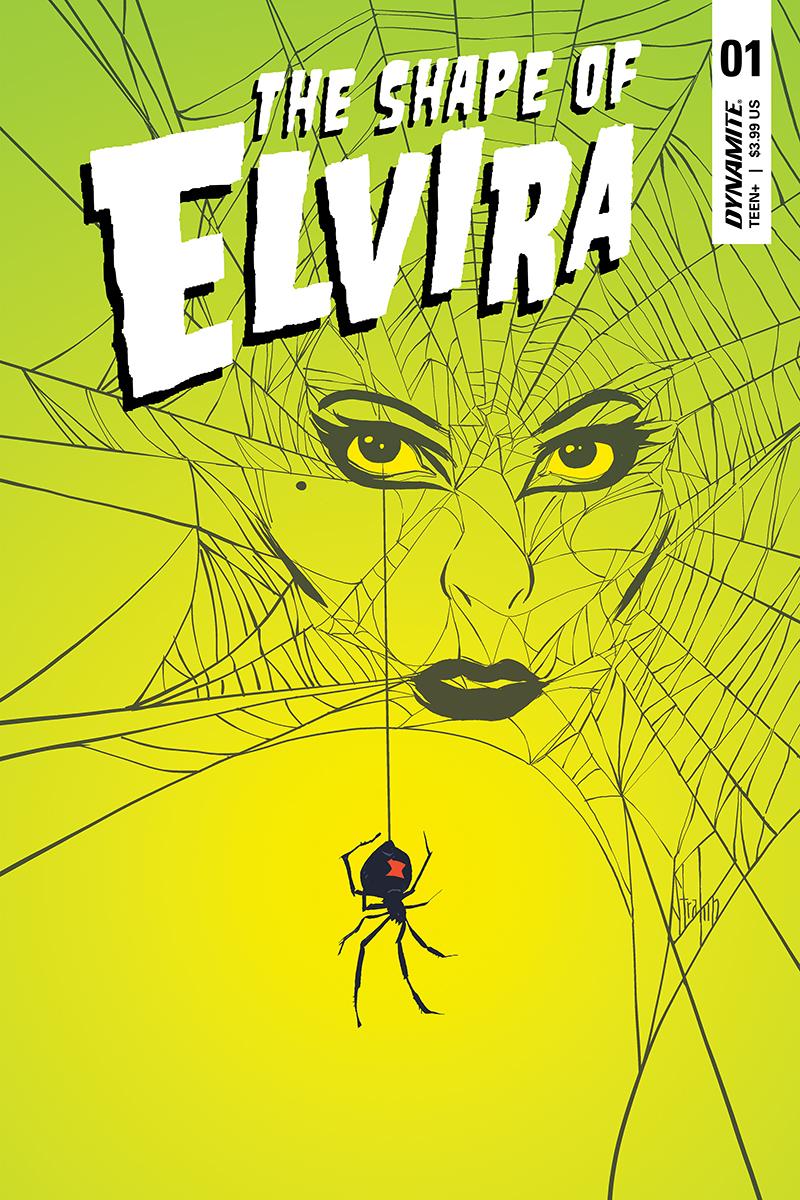 ELVIRA SHAPE OF ELVIRA #1 CVR C STRAHM