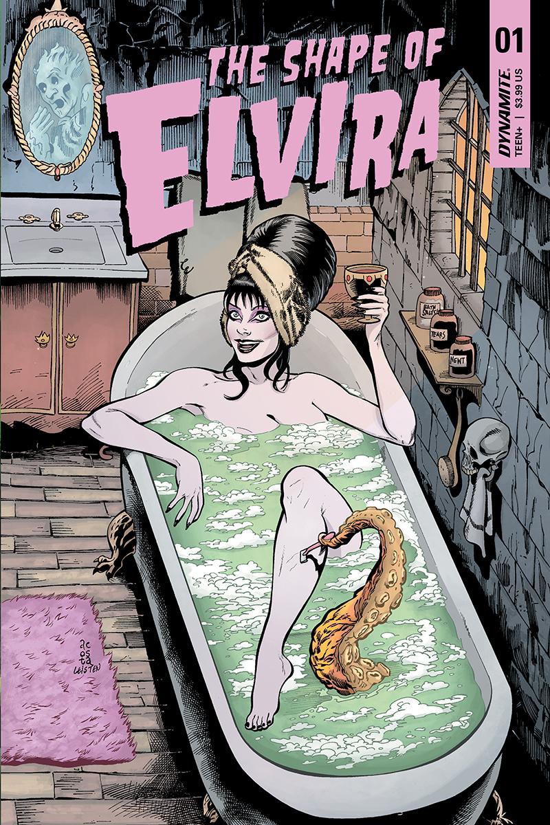 ELVIRA SHAPE OF ELVIRA #1 CVR D ACOSTA