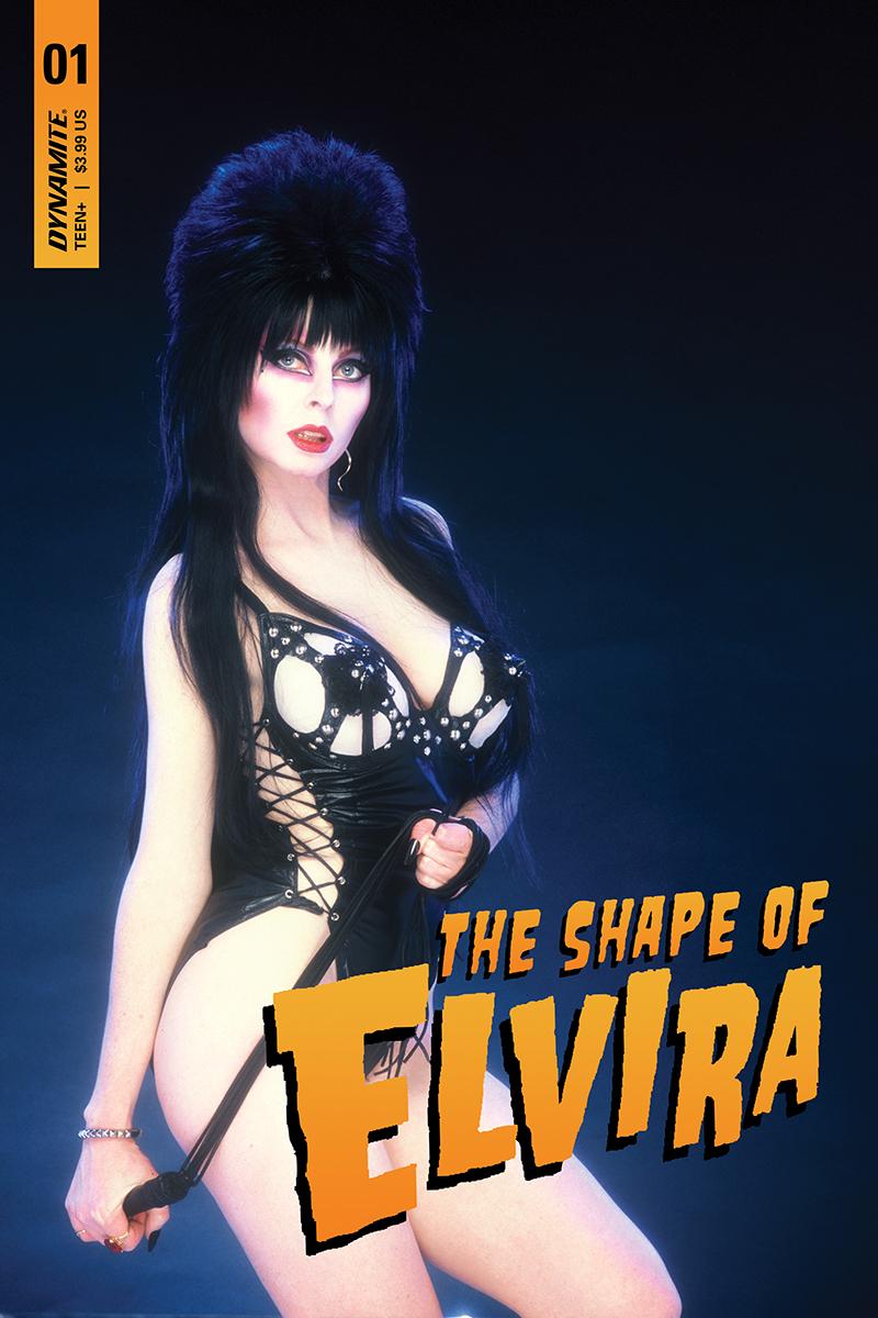 ELVIRA SHAPE OF ELVIRA #1 SGN PHOTO VAR