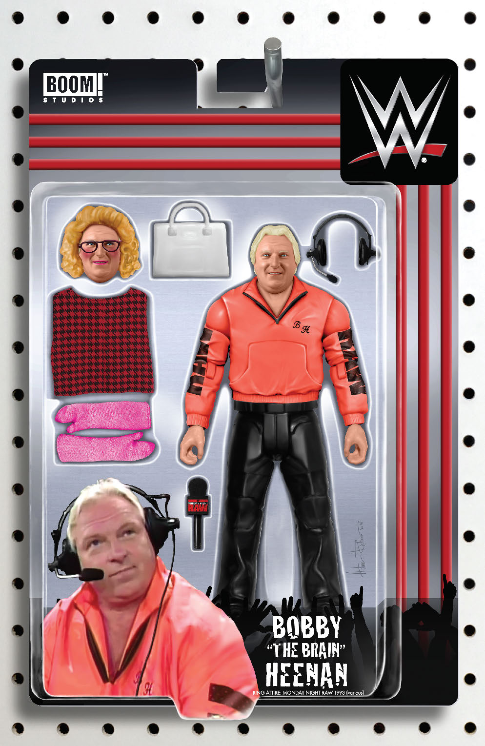 WWE #24 RICHES ACTION FIGURE VAR