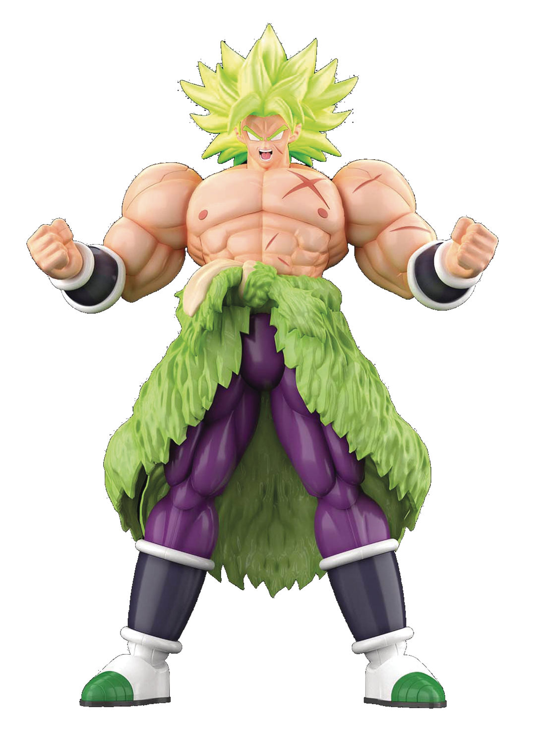 DB SUPER SS BROLY FULL POWER FIGURE-RISE STD MDL KIT  (