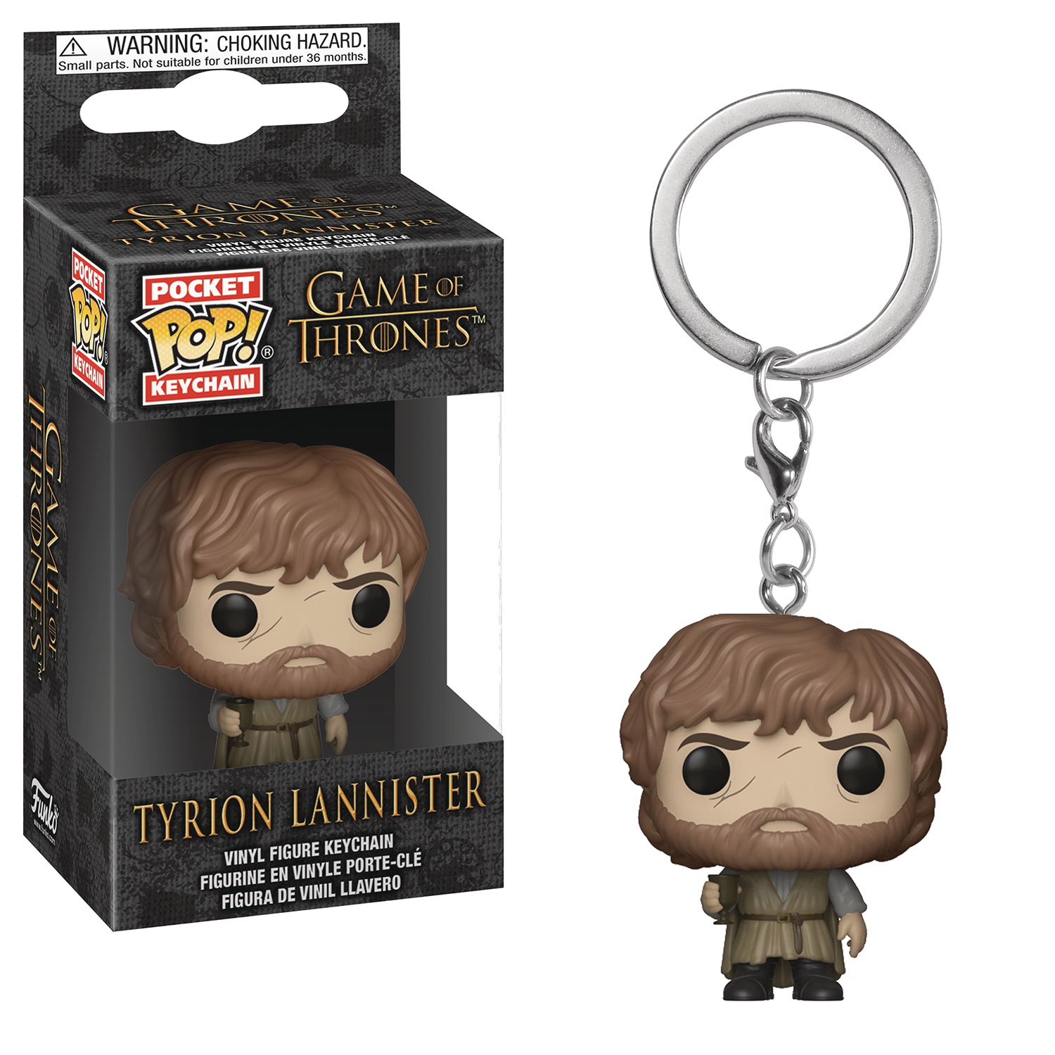 POCKET POP GOT S9 TYRION LANNISTER FIG KEYCHAIN