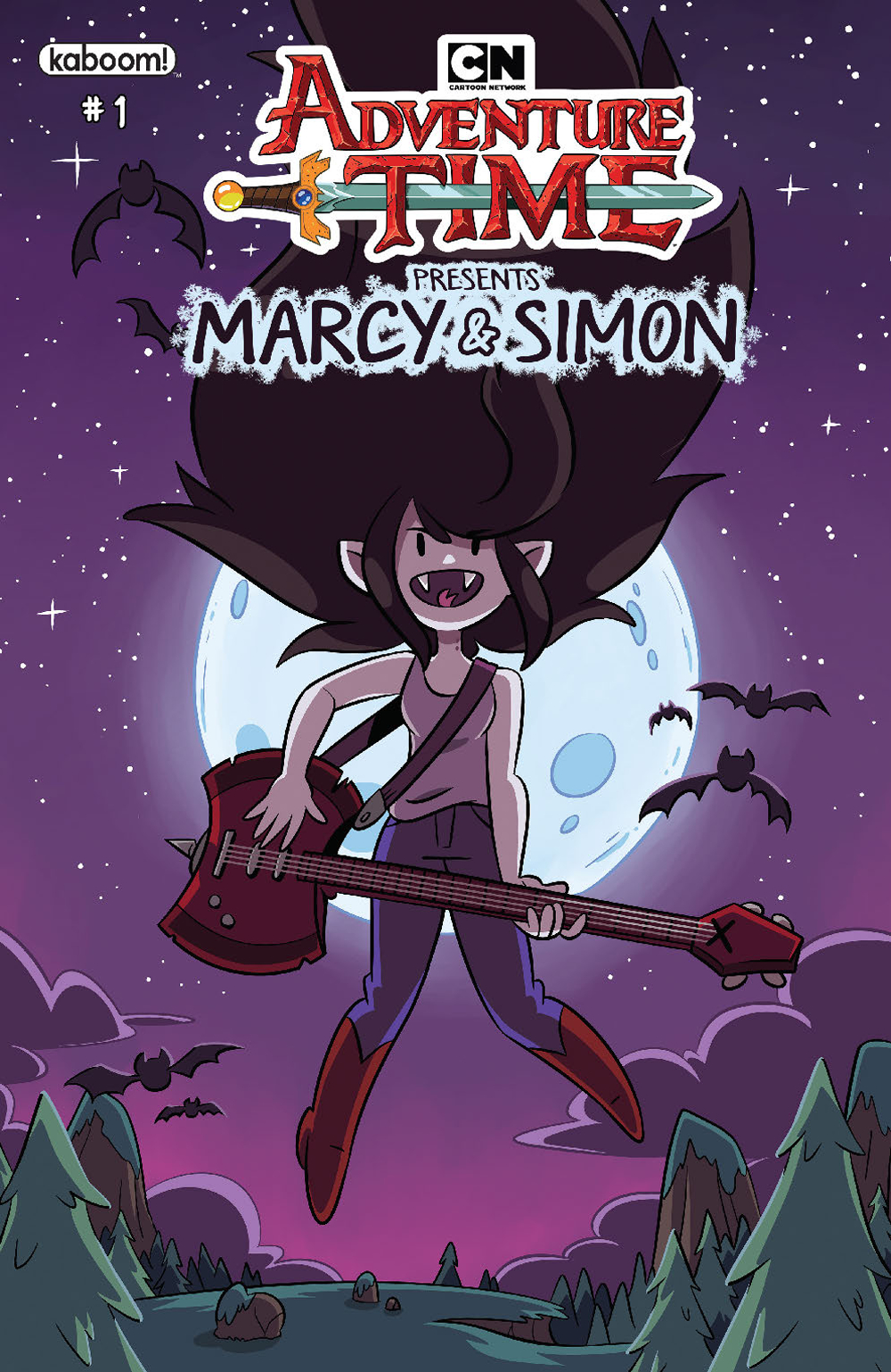 ADVENTURE TIME MARCY & SIMON #1 (OF 6) PREORDER MARCY