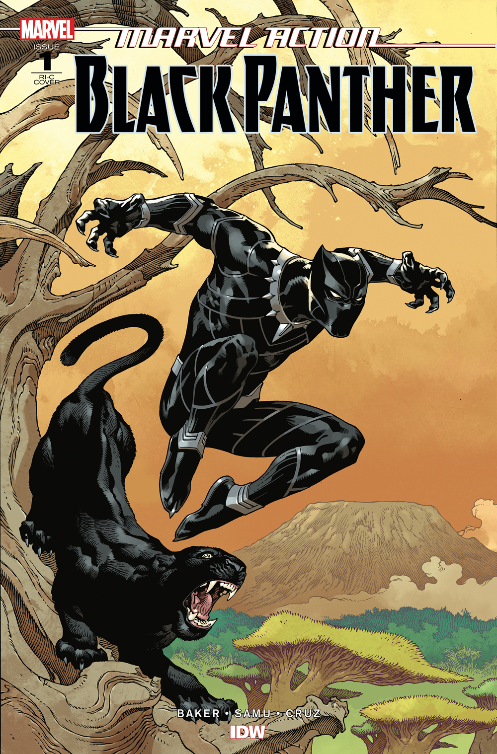MARVEL ACTION BLACK PANTHER #1 50 COPY INCV RODRIGUEZ