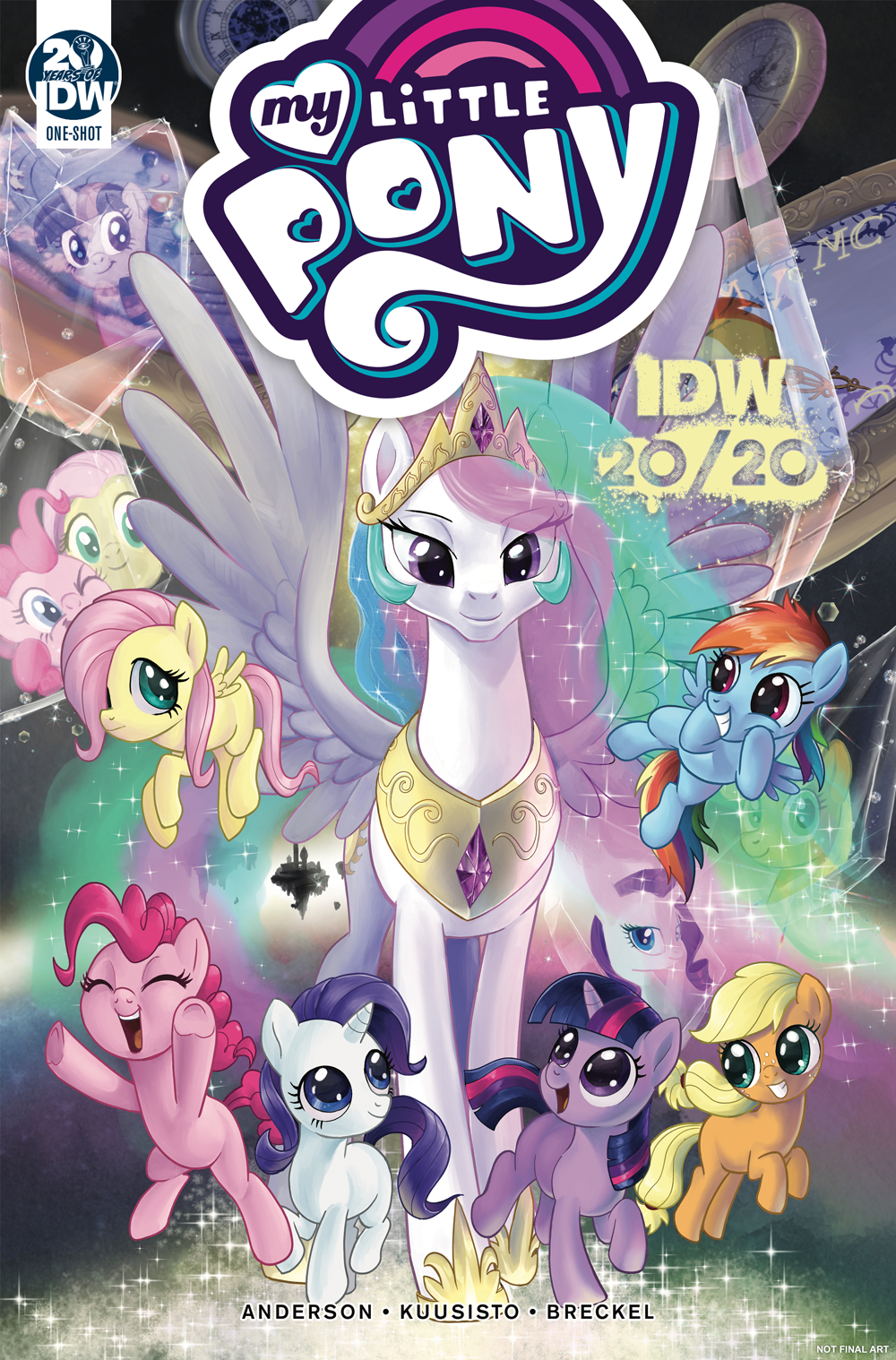 MY LITTLE PONY IDW 2020 KUUSISTO