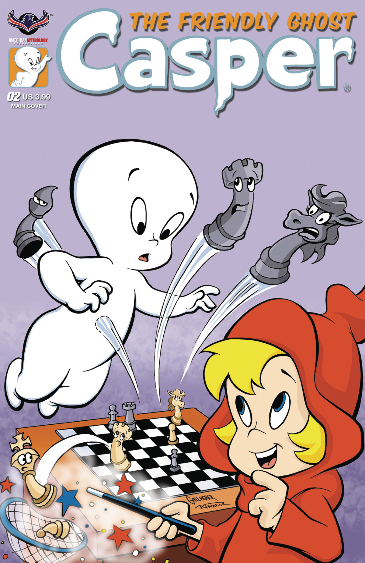CASPER THE FRIENDLY GHOST #2 GALLAGHER SIGNED ED