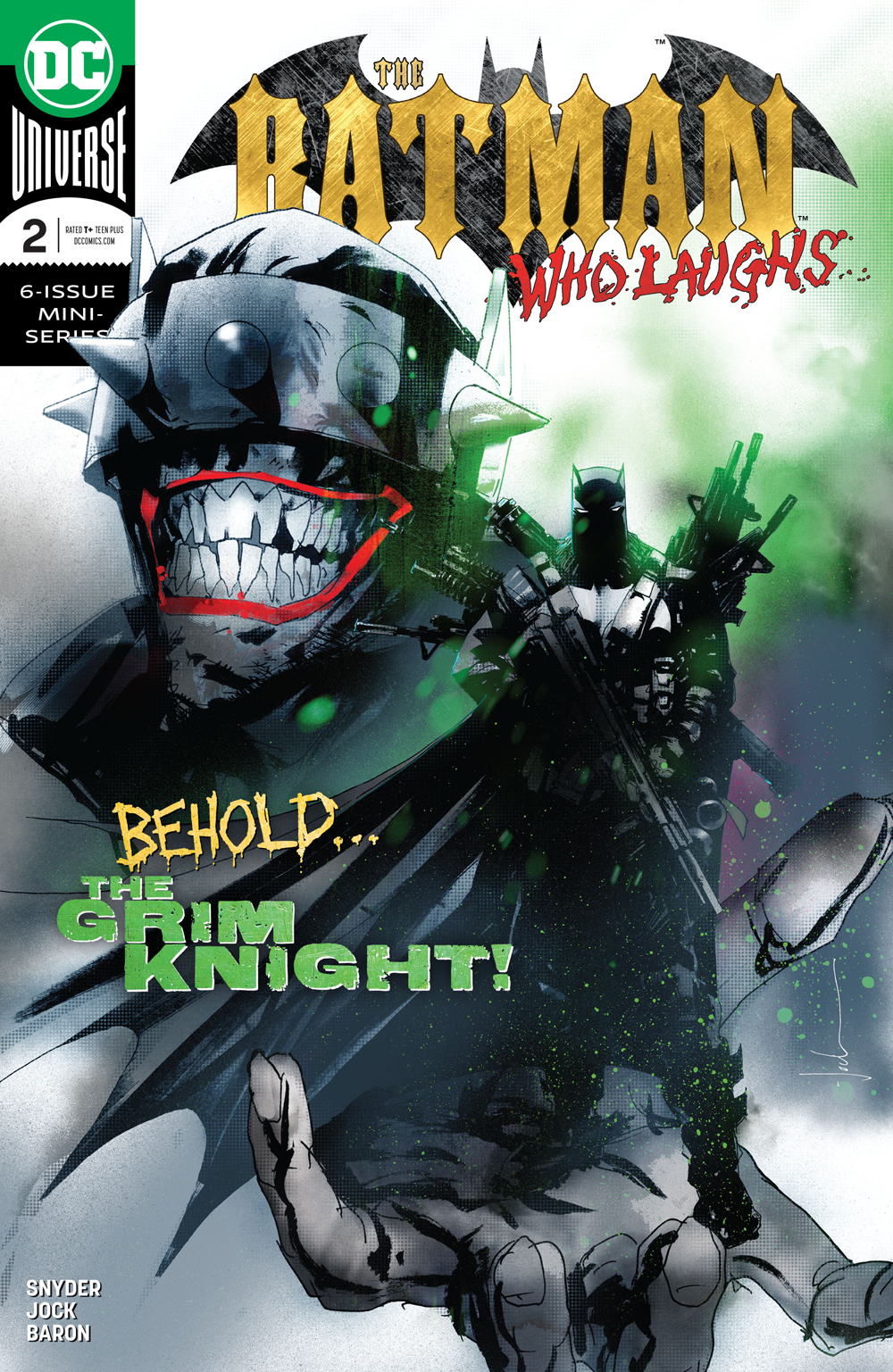 BATMAN WHO LAUGHS #2 (OF 6)
