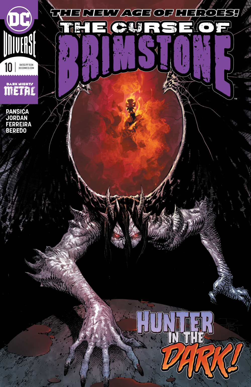 CURSE OF BRIMSTONE #10